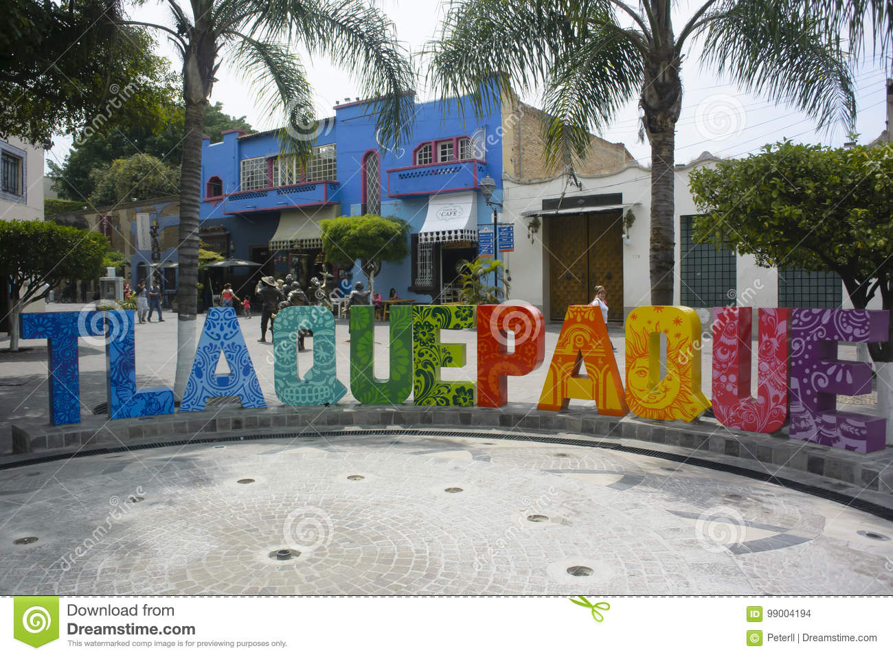 Town sign, Jalisco, Mexico.