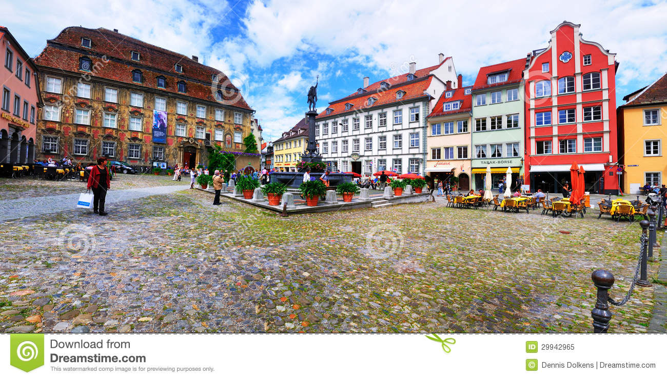 Town square lindau germany editorial image image 29942965 for Boden germany