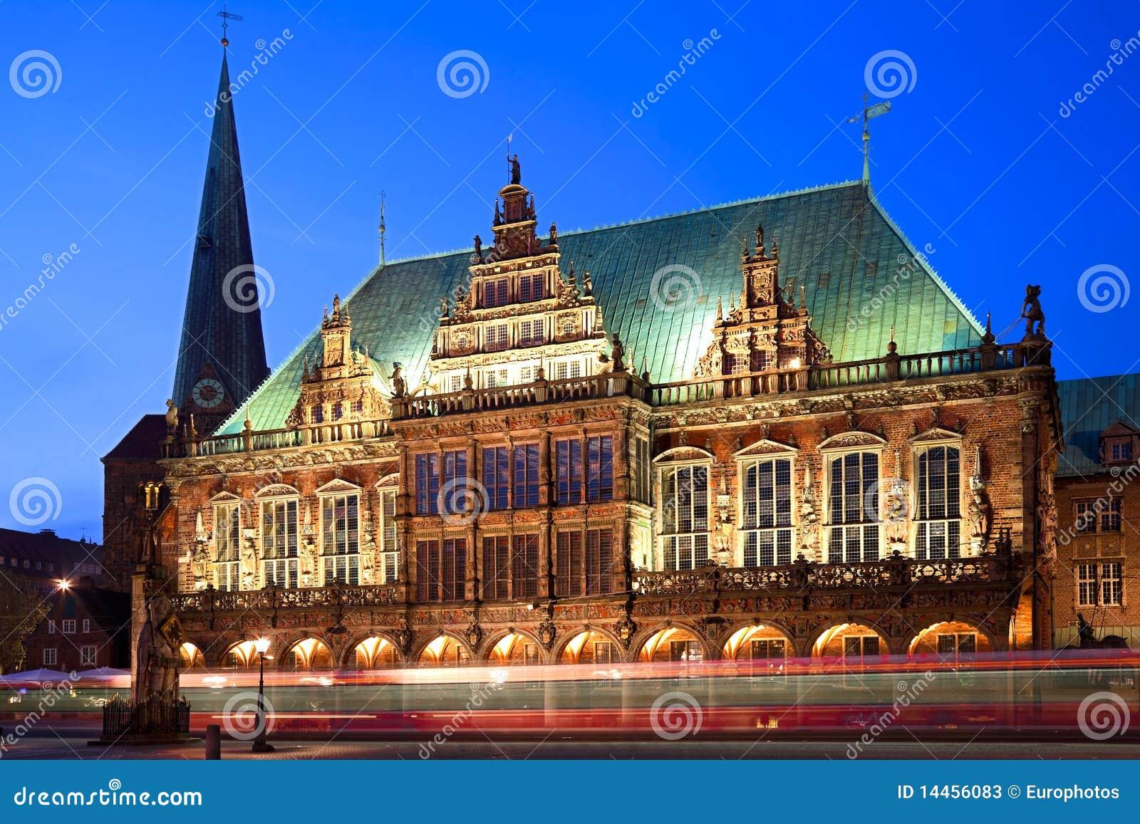Townhall στη Βρέμη, Γερμανία.