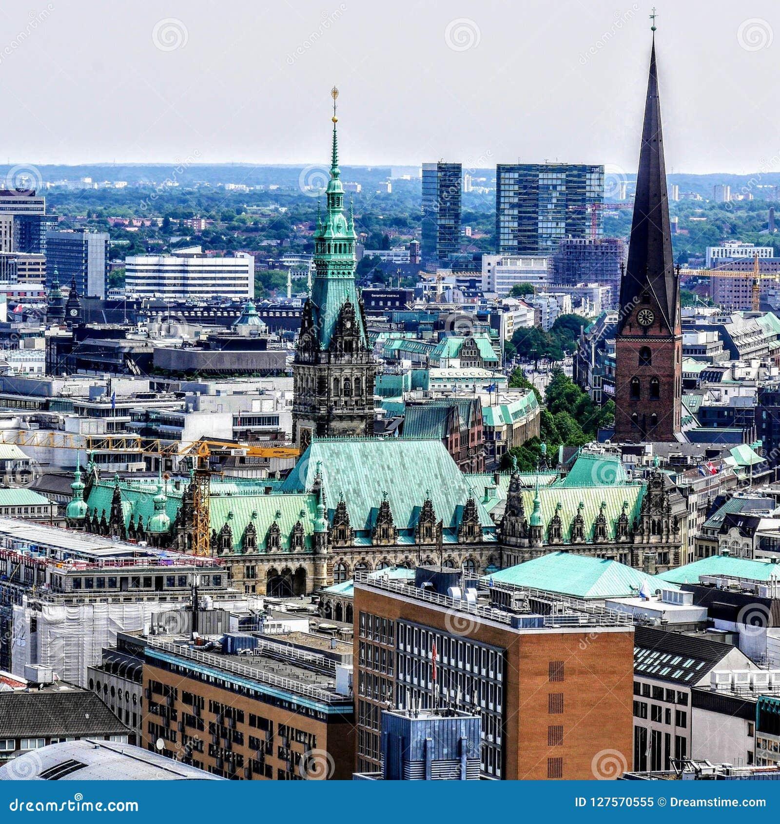 Townhall de Hamburgo