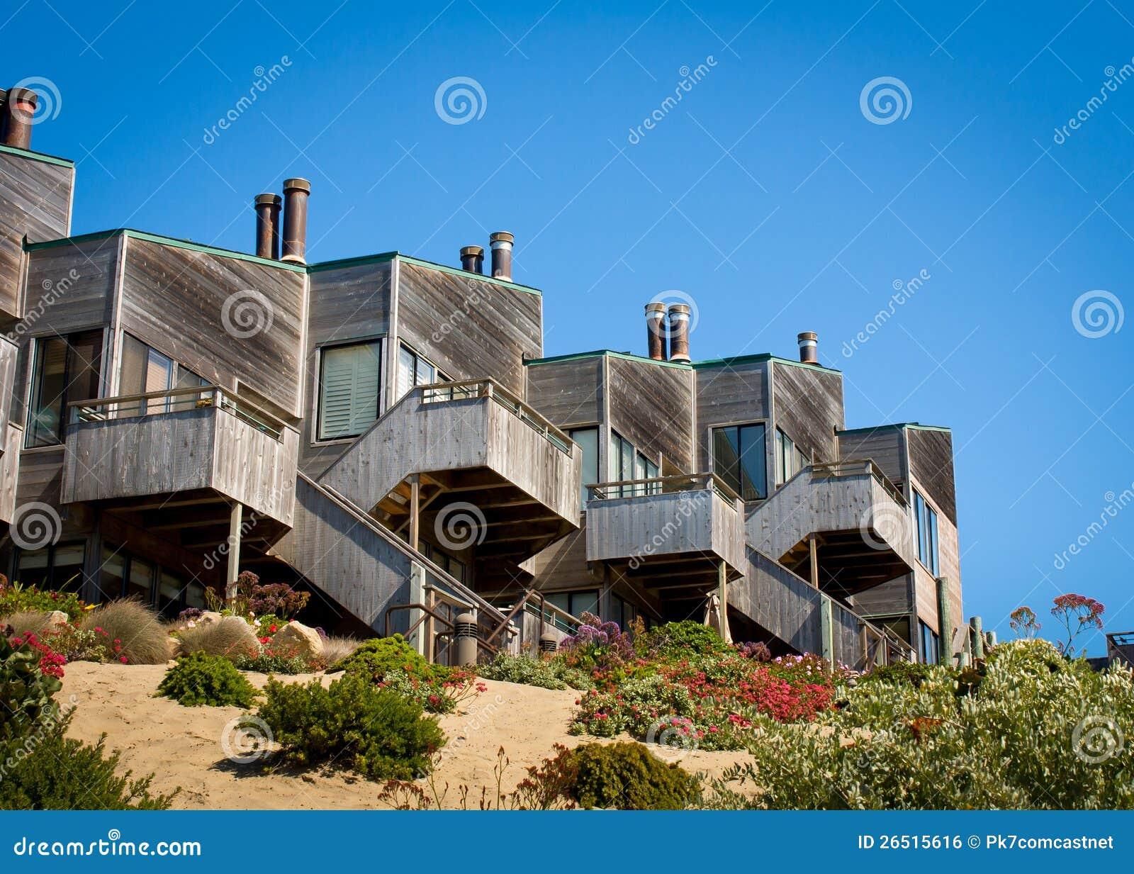 Townhomes acima da duna