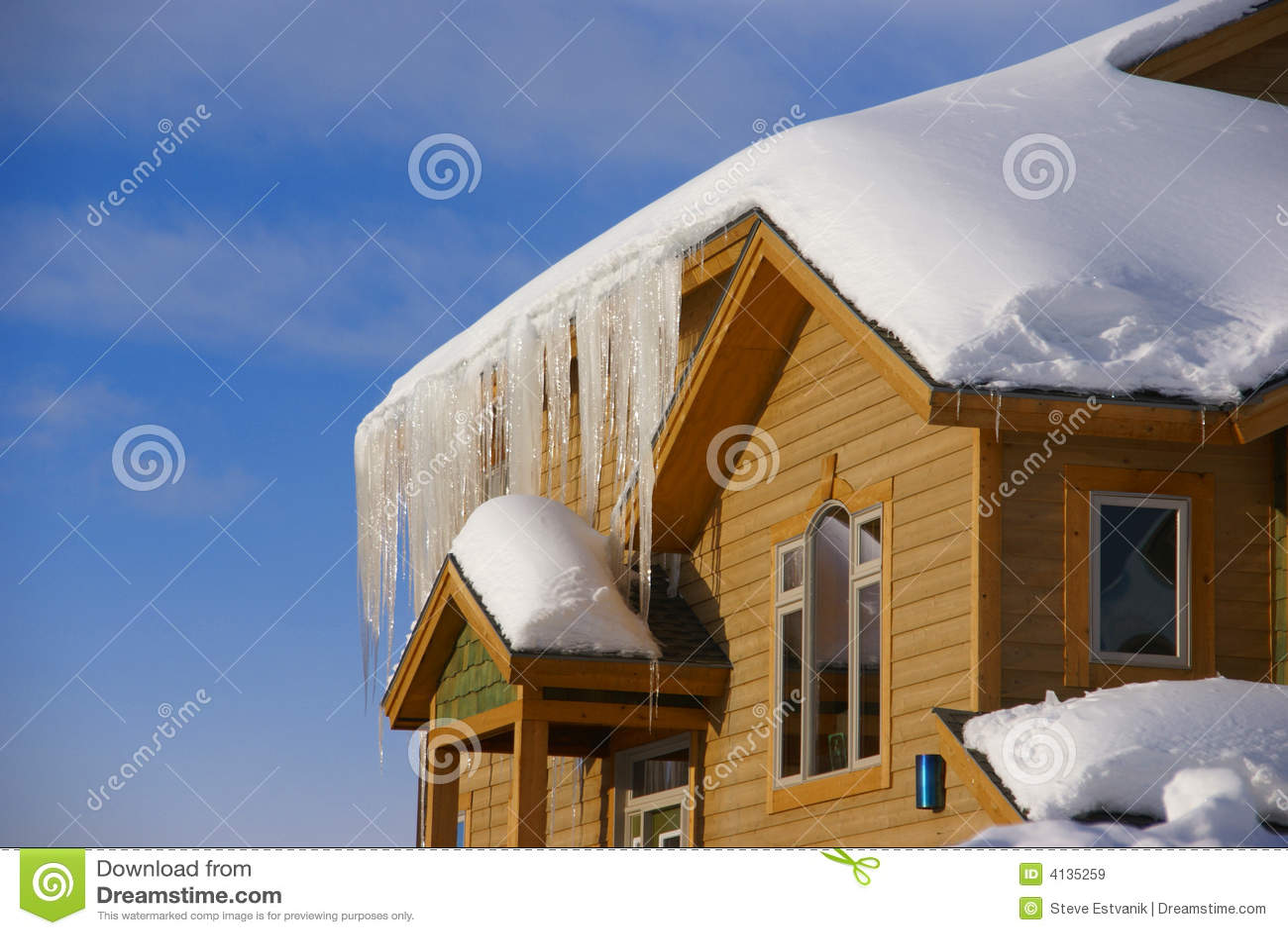 Townhouses пурги тяжелых icicles большие