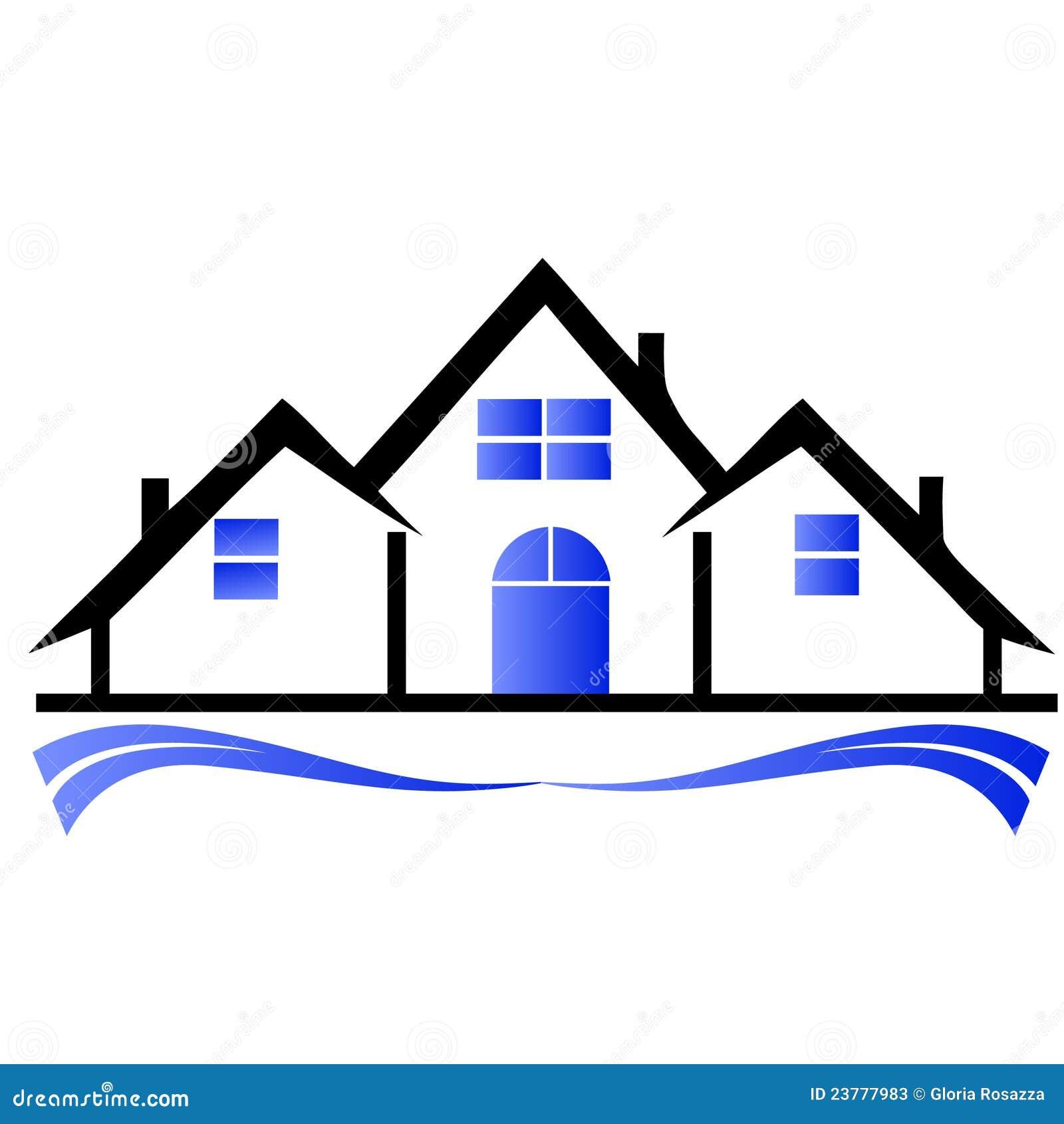 Townhouses Logo Stock Photos Image 23777983