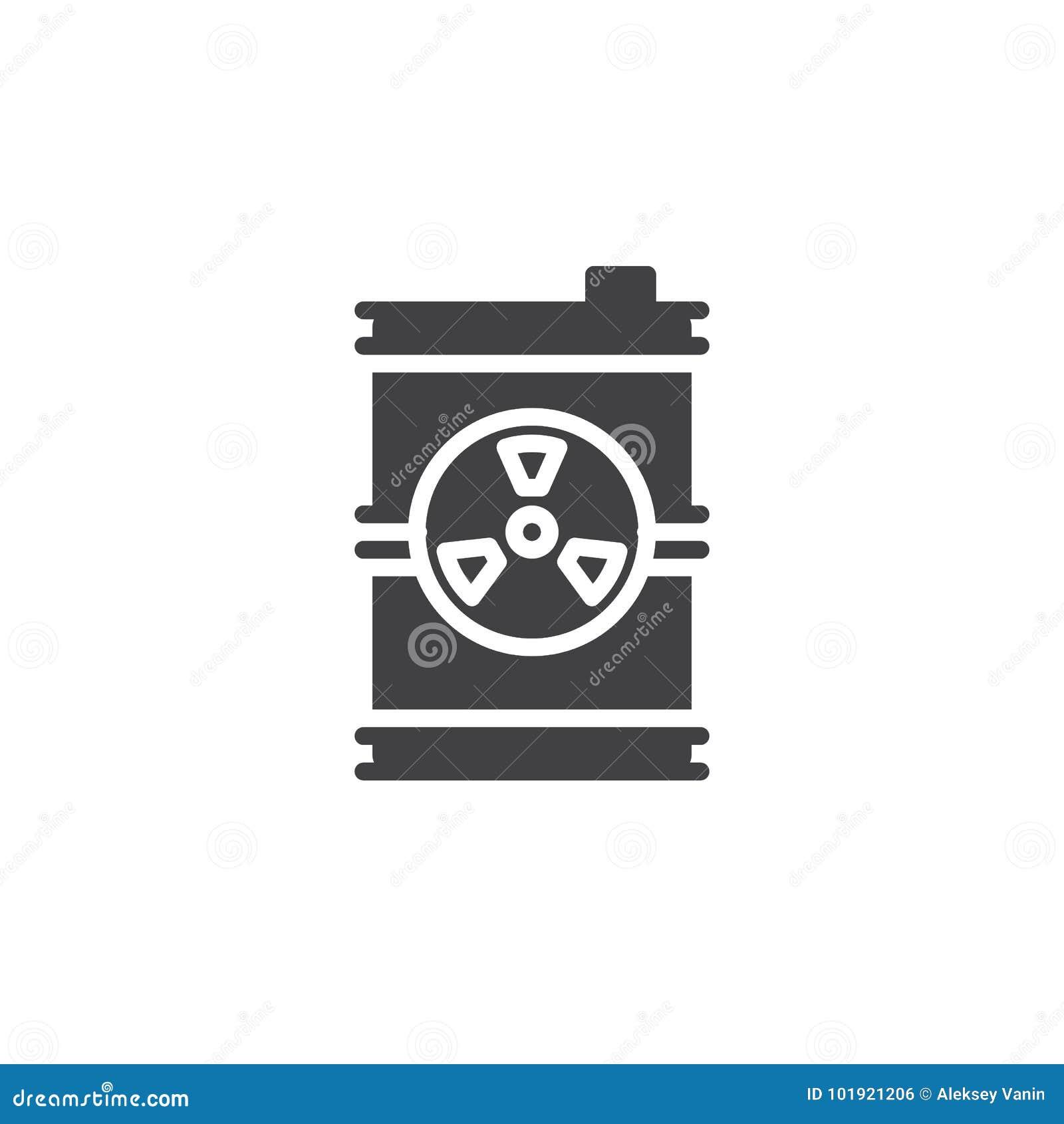Toxic Barrel Icon Vector Stock Vector Illustration Of Flat 101921206