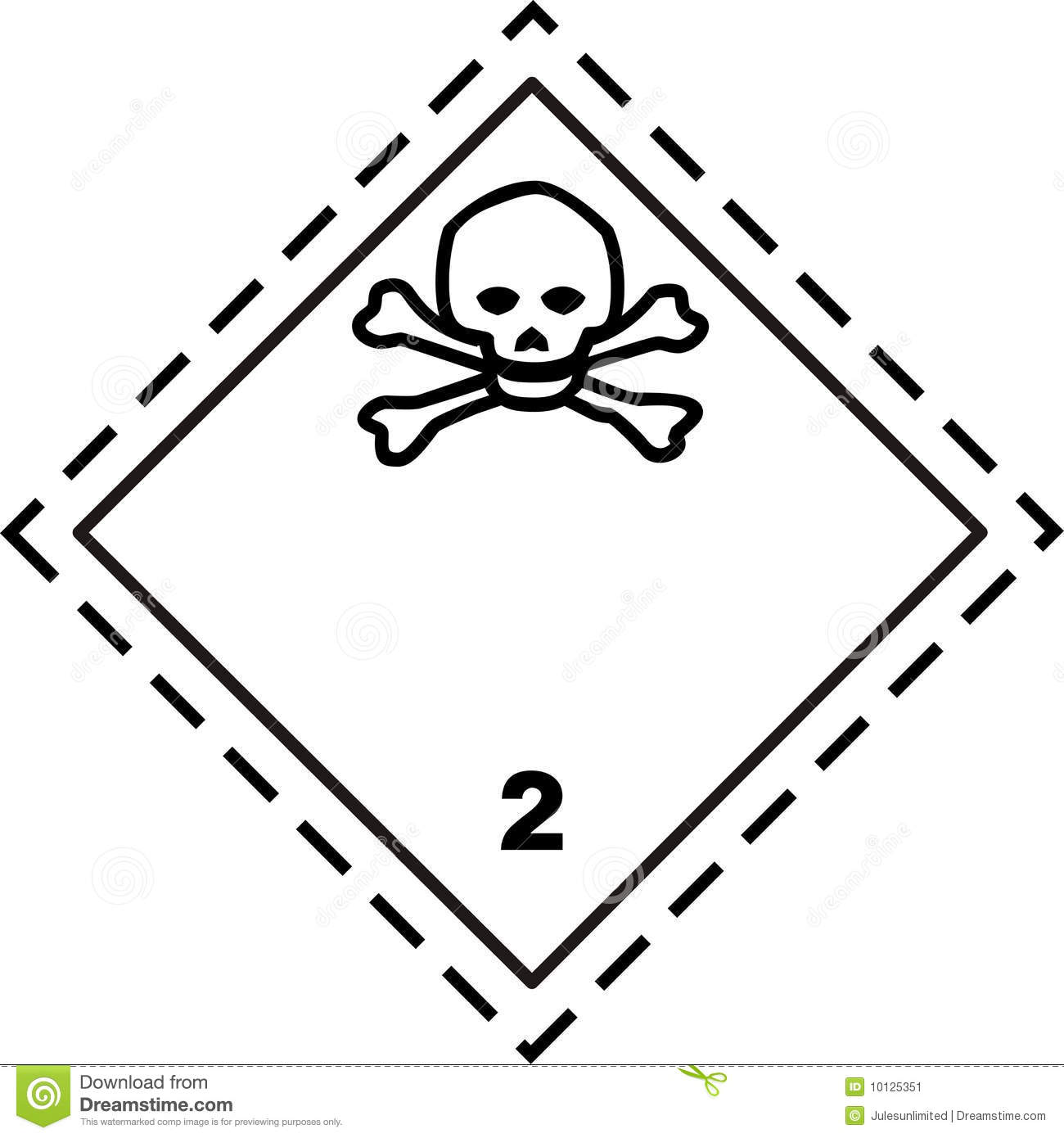 Toxic gas safety placard stock vector illustration of bombs royalty free stock photo biocorpaavc Images