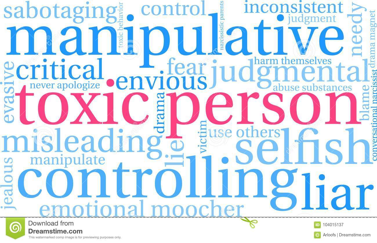 What is a toxic person