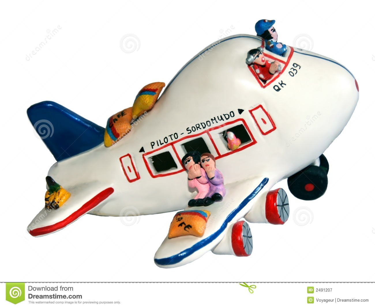 Toy Airplane Royalty Free Stock Photography - Image: 2491207