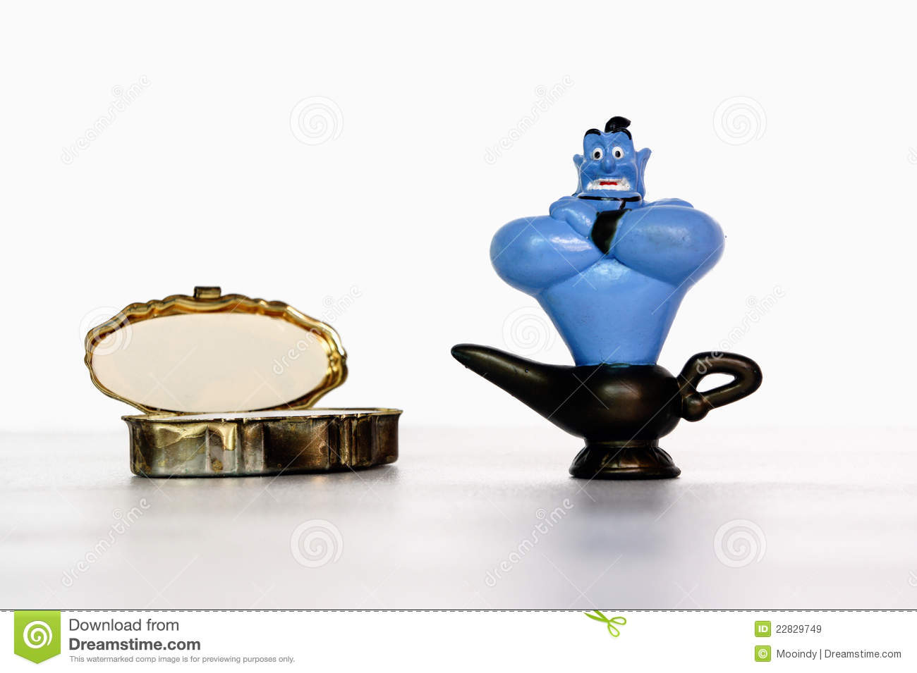 Toy Aladdin Genie Royalty Free Stock Images - Image: 22829749