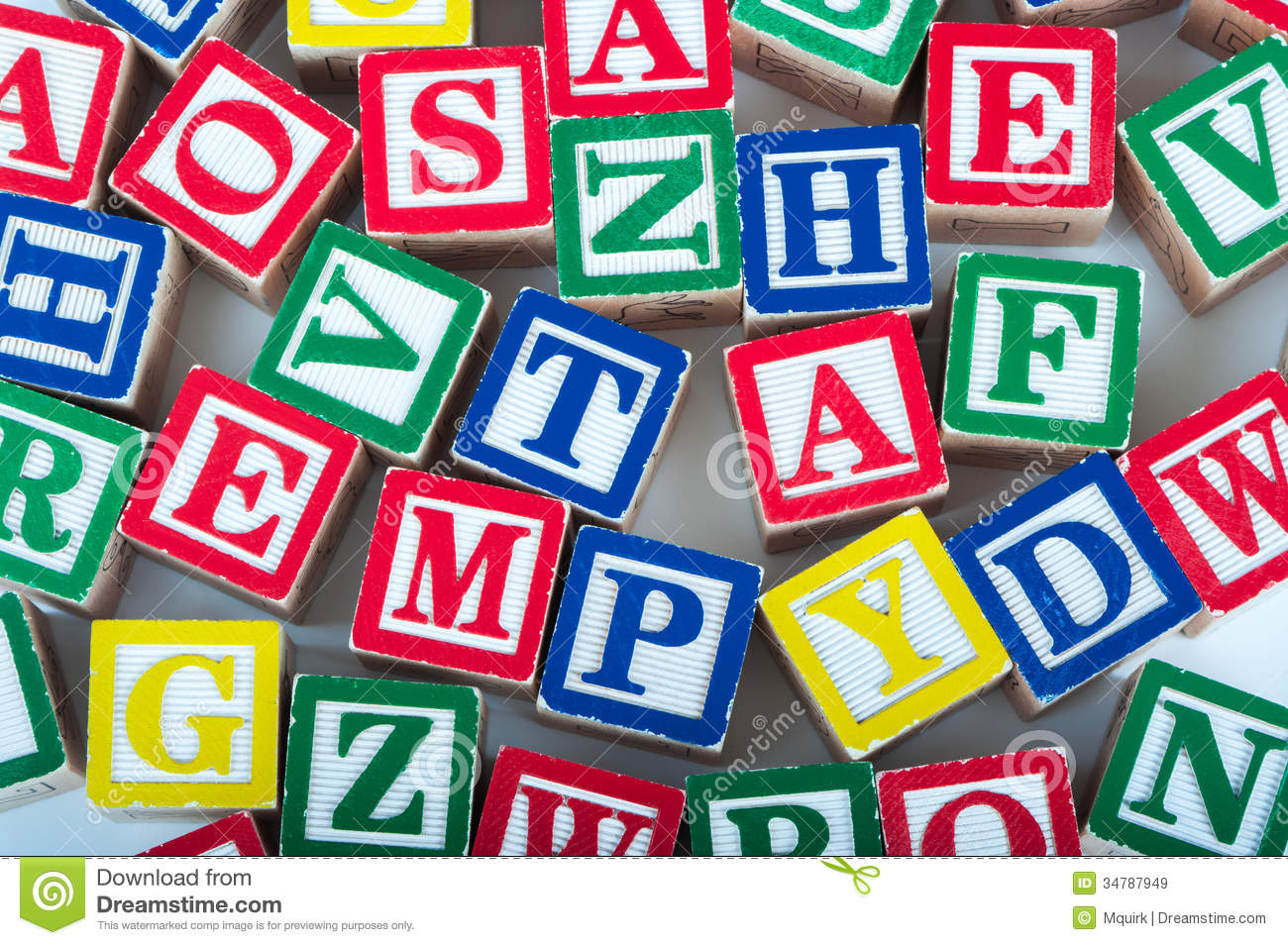 Toy Alphabet Blocks Royalty Free Stock Images - Image ...