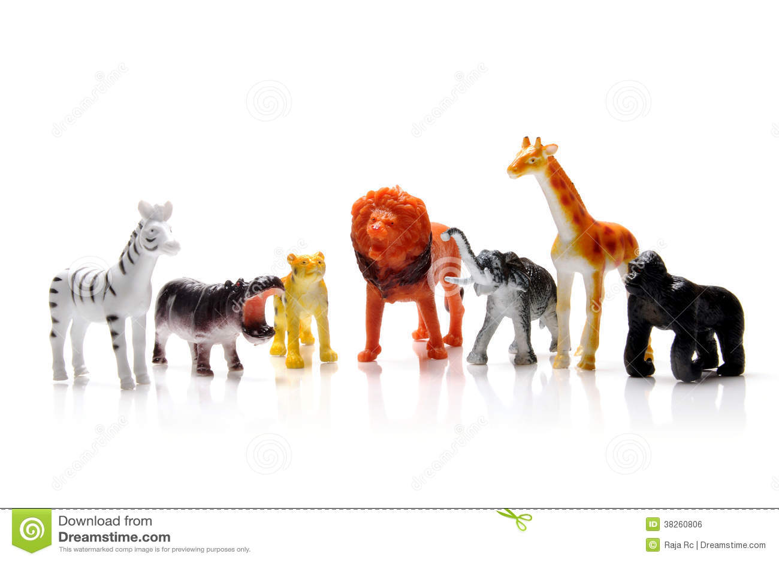 Toy Animals Stock Photo Image Of Isolated Male Dangerous 38260806