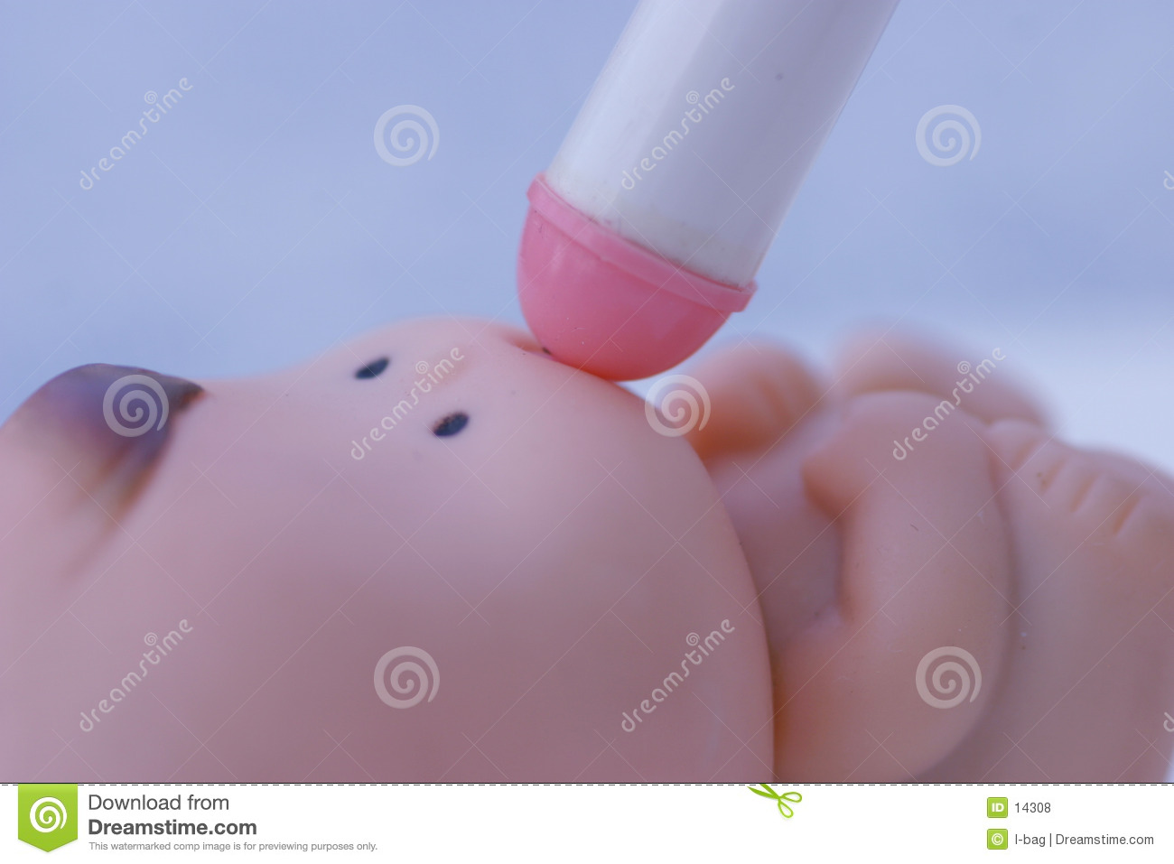 Toy baby drink