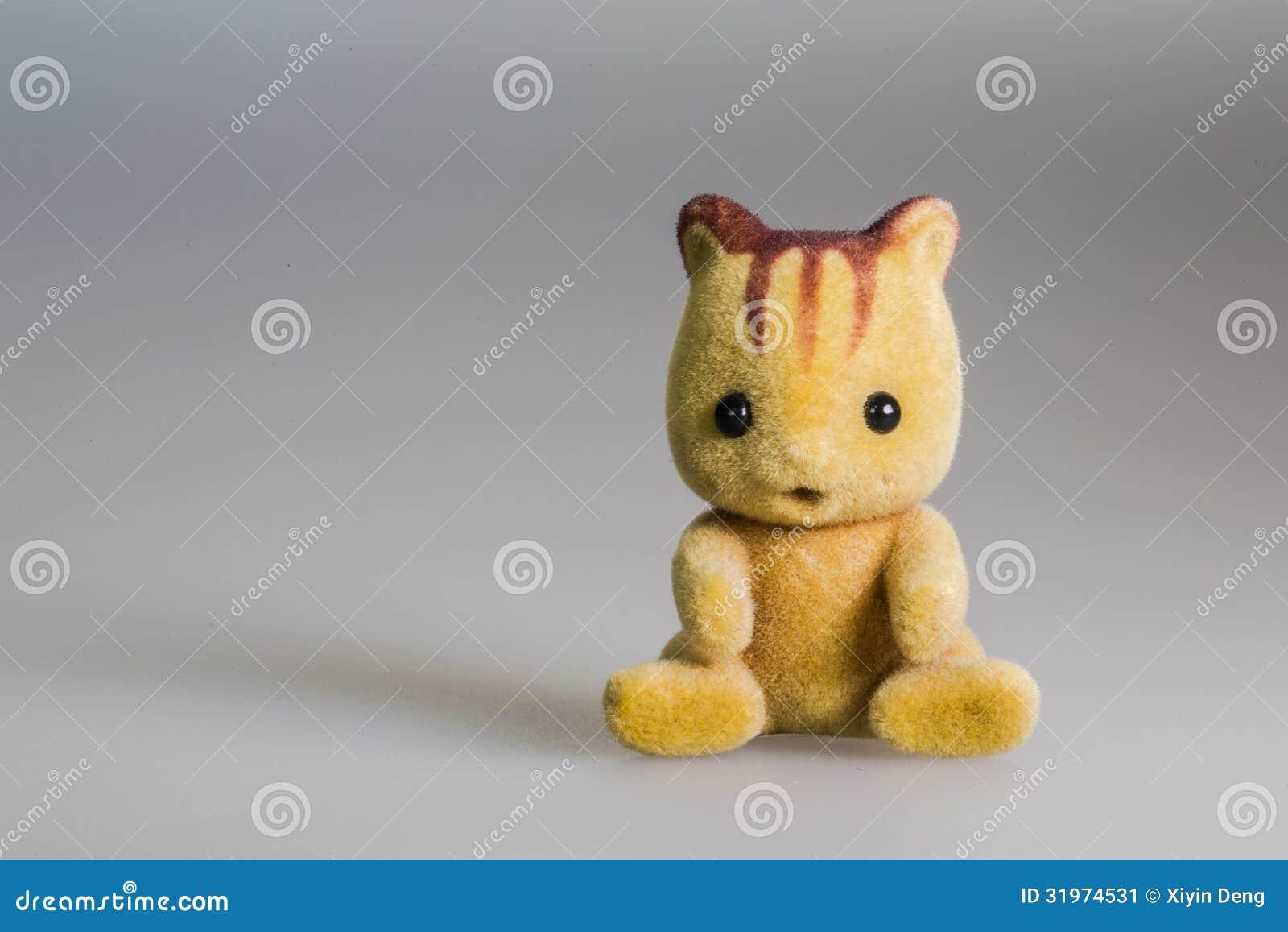 Toy baby squirrel