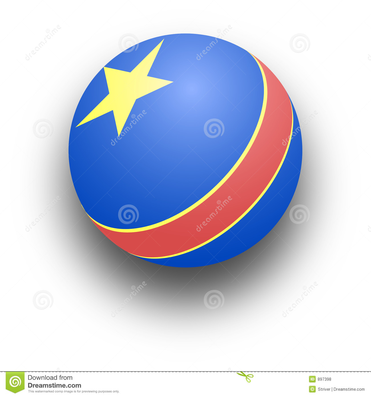 Red Ball Toy : Toy ball stock illustration image of bounce play toys
