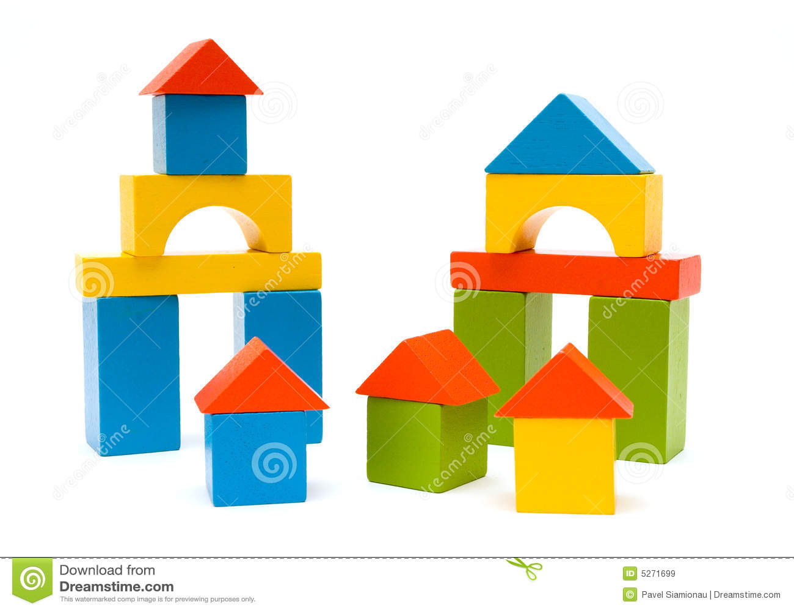 Toy Blocks Royalty Free Stock Images - Image: 5271699