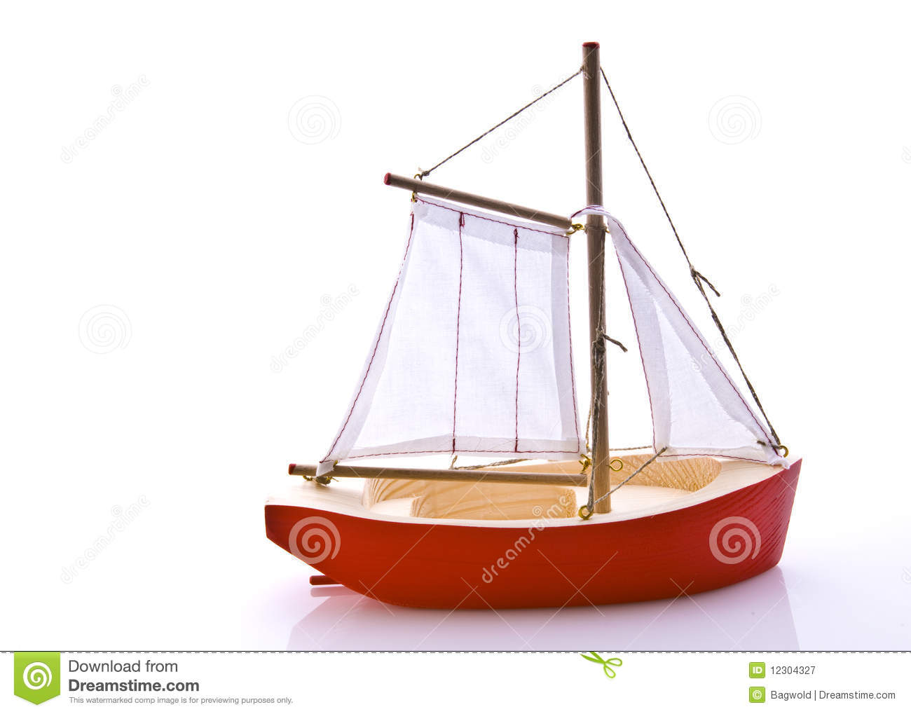 Toy Boat Royalty Free Stock Photography - Image: 12304327