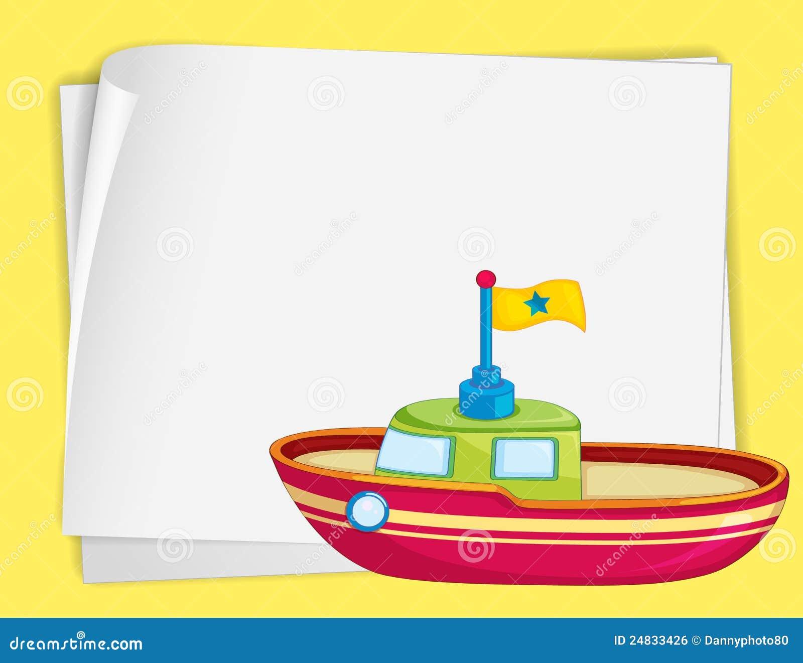 Toy Boat Royalty Free Stock Image - Image: 24833426