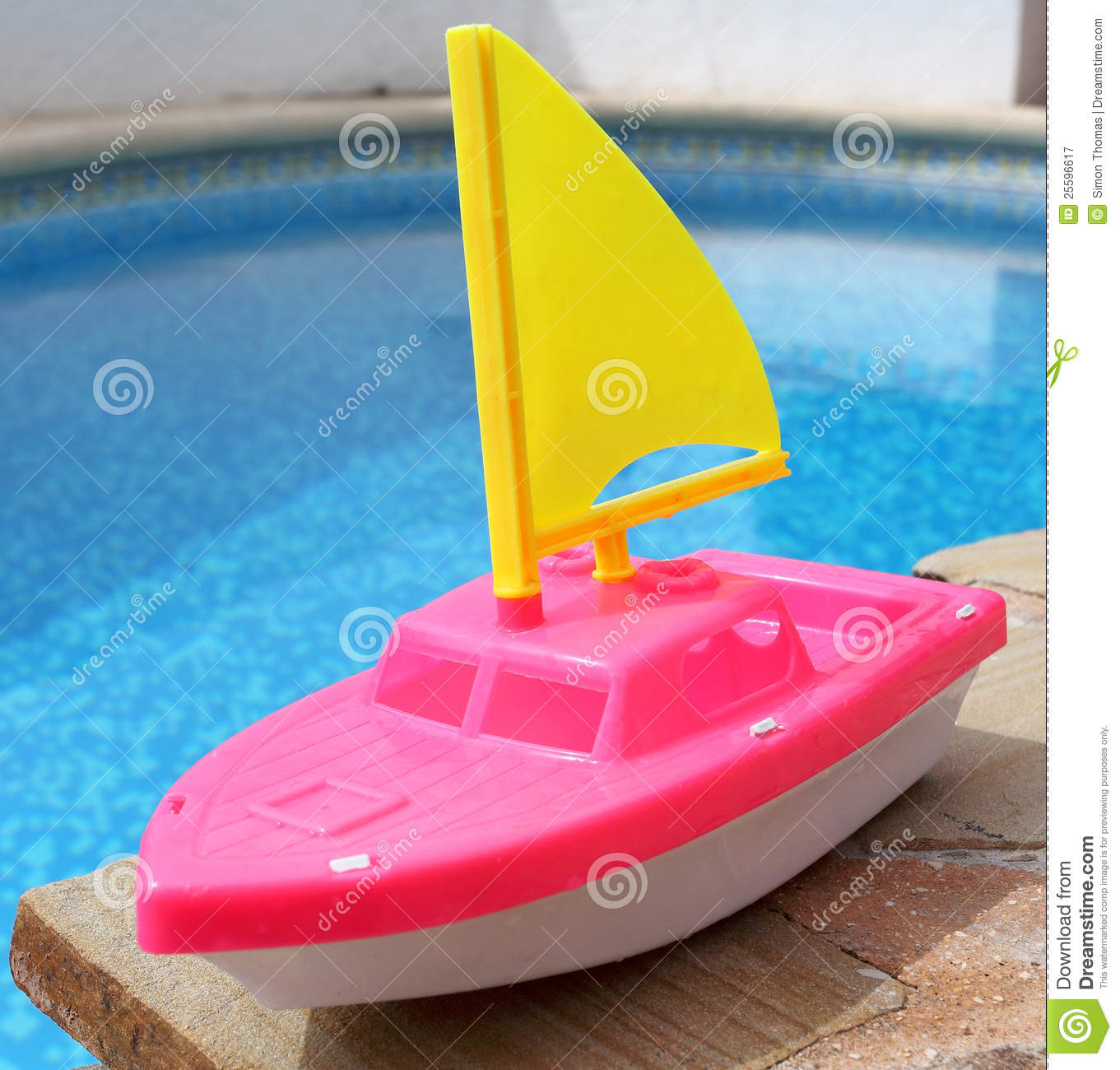 Toy Boat Royalty Free Stock Photography - Image: 25596617