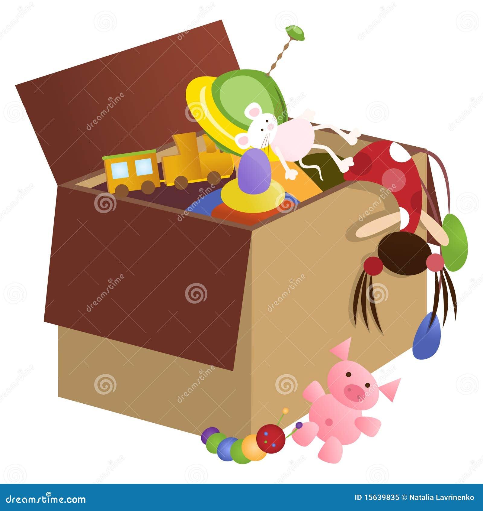 Toy Box Royalty Free Stock Photo Image 15639835