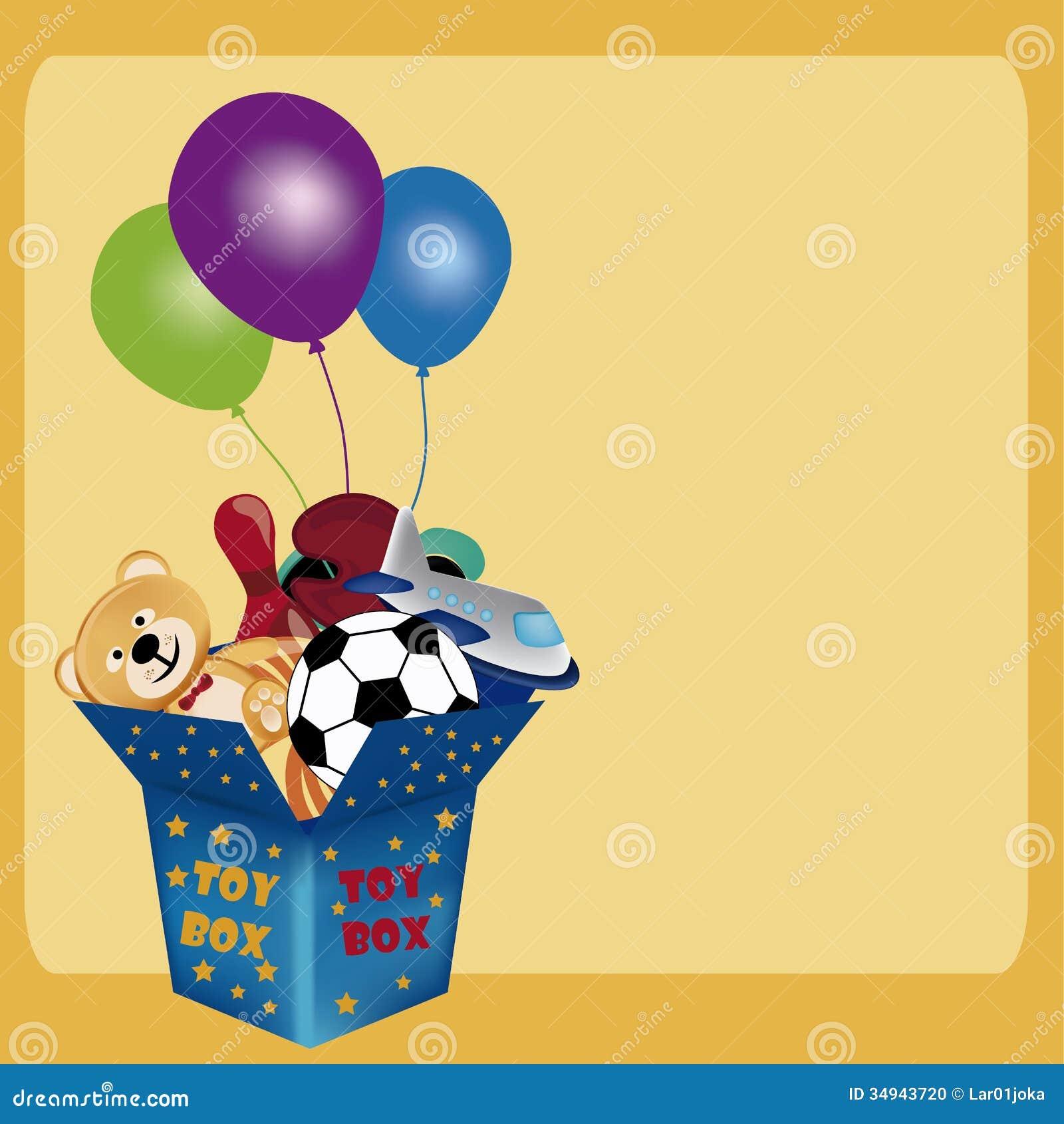 Toy Box Stock Photo - Image: 34943720