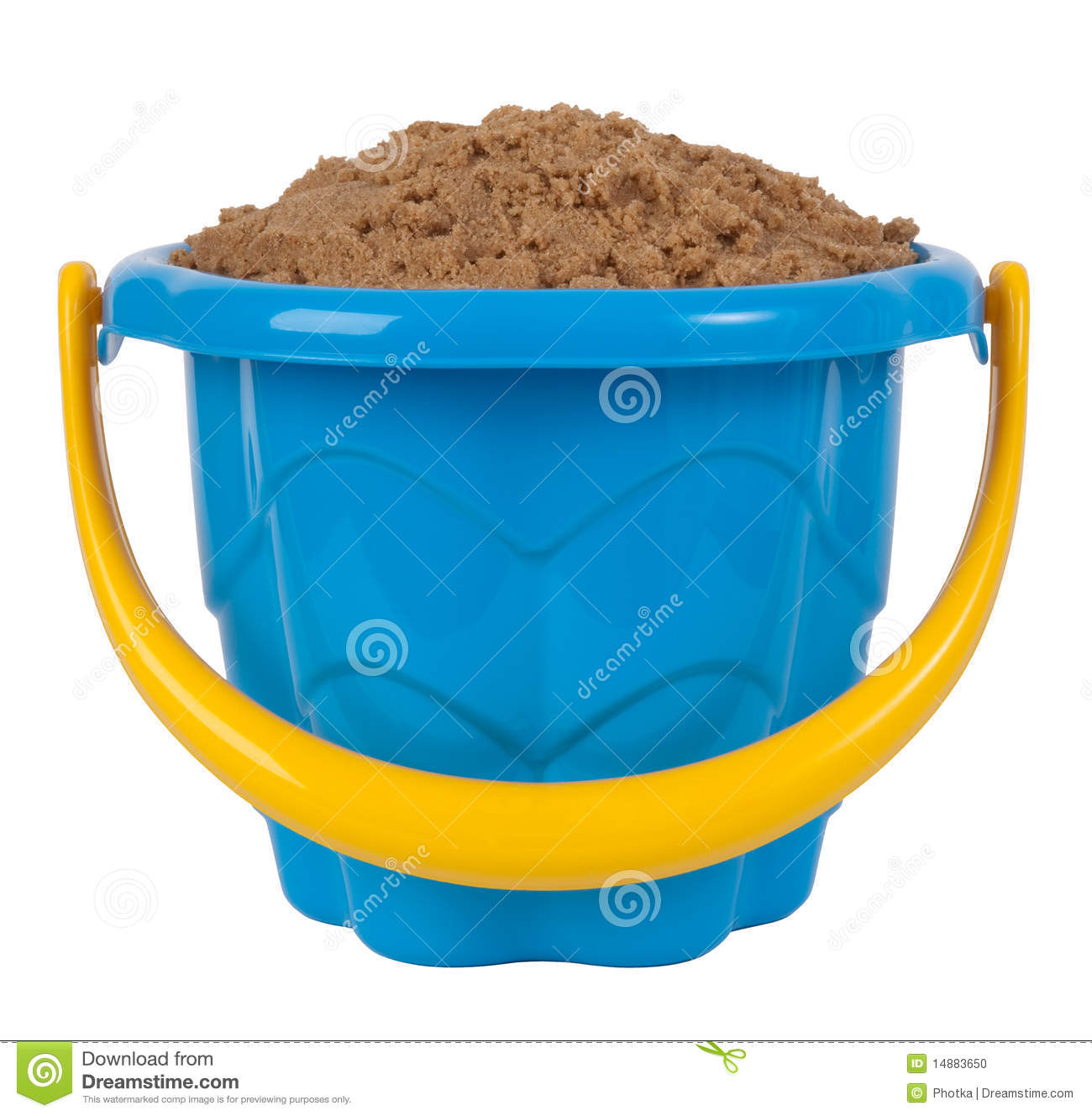 Uncategorized Toy Pail toy bucket with sand stock photo image of sandbox handle 14883650 royalty free download bucket