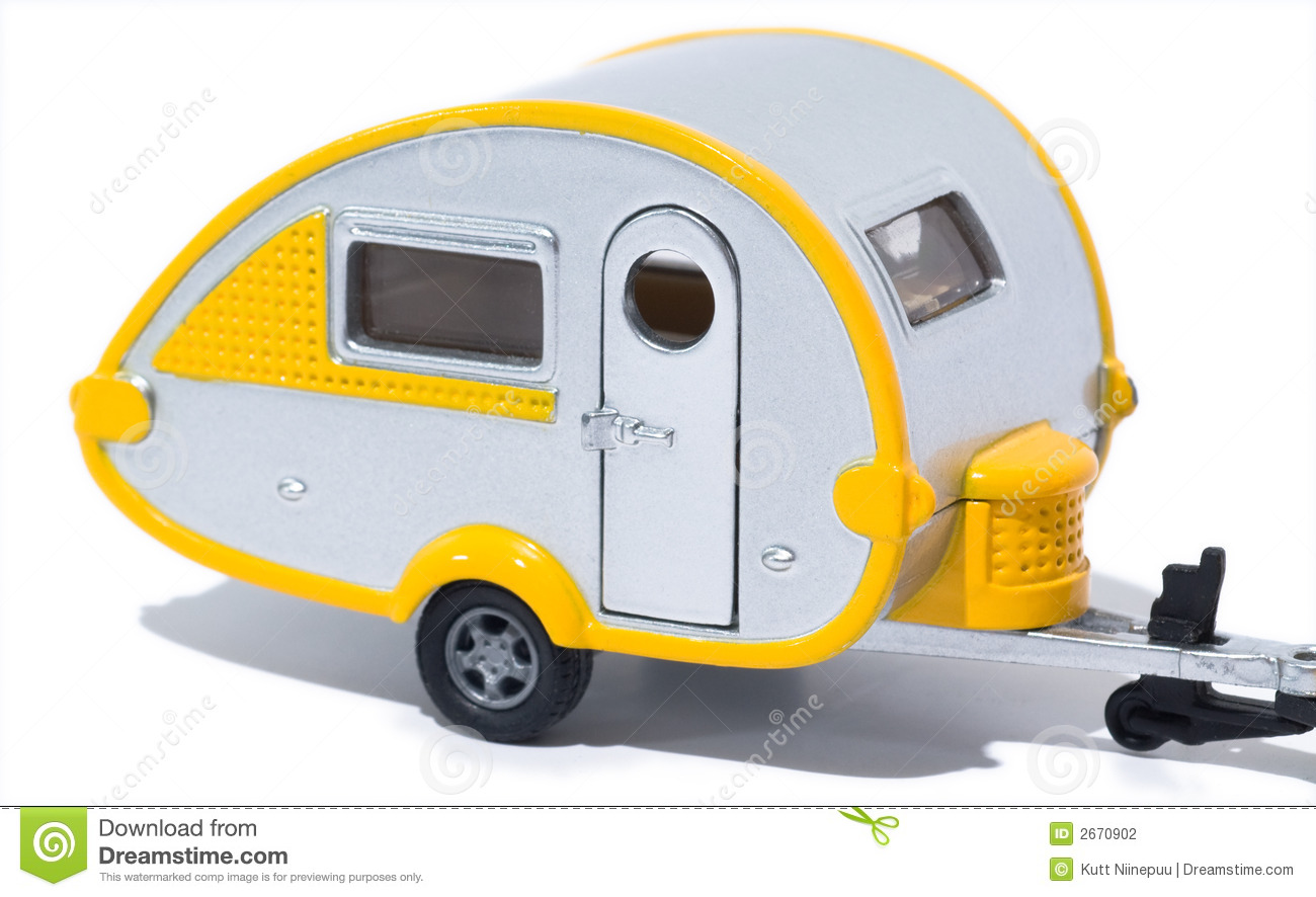 Trat Er Toy : Toy camper stock photography image