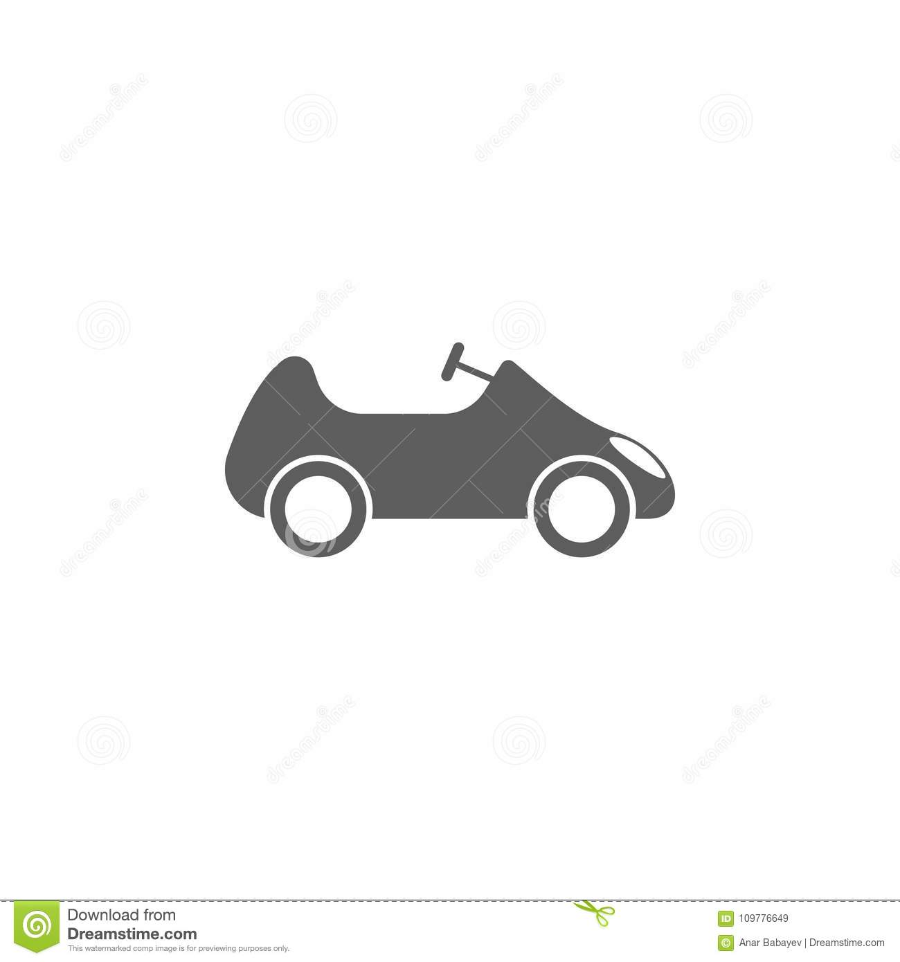 Toy Car Icon Element Of Toys For Mobile Concept And Web Apps Icon