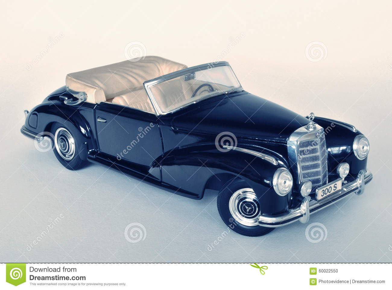 Toy Car Model Mercedes Benz 300s 1955 Editorial Image Image Of