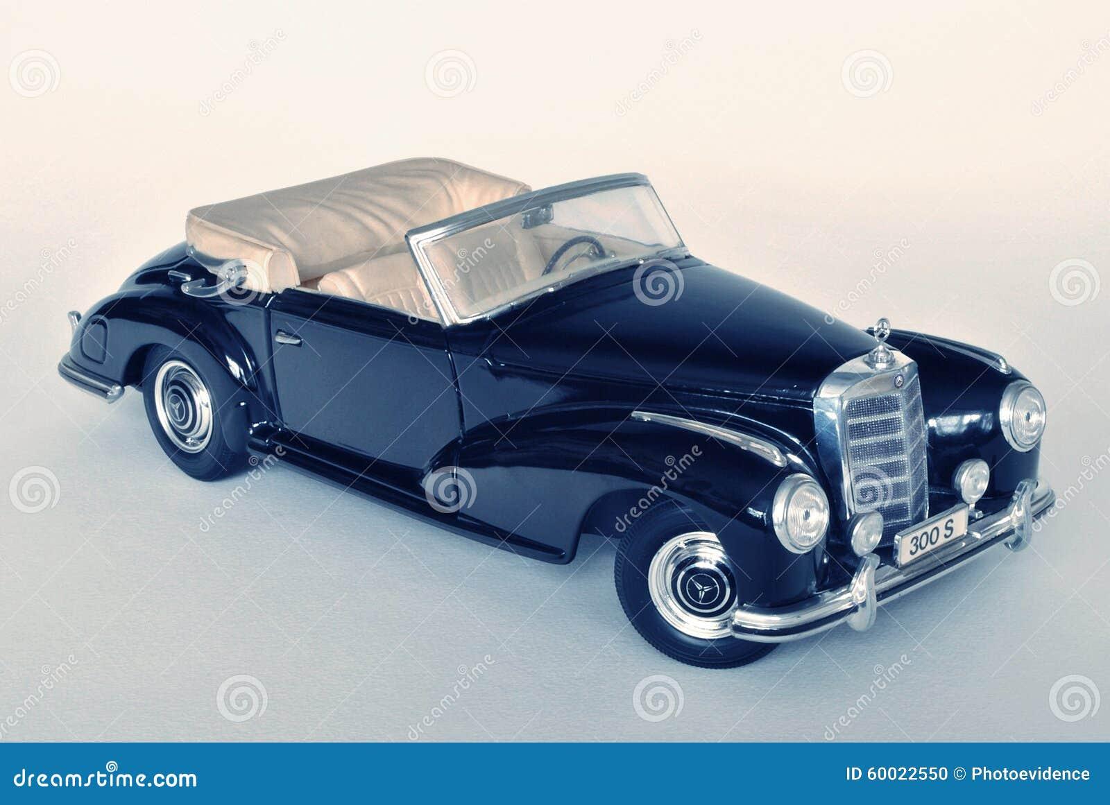 Toy car model mercedes benz 300s 1955 editorial image for Mercedes benz toy car models