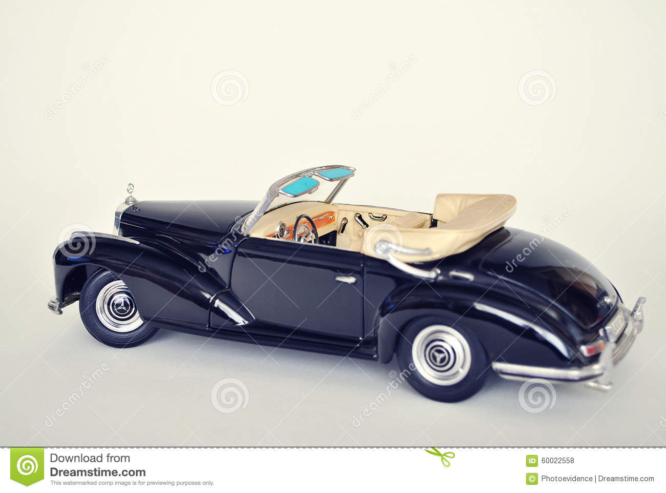 Toy car model mercedes benz 300s 1955 editorial stock for Mercedes benz toy cars