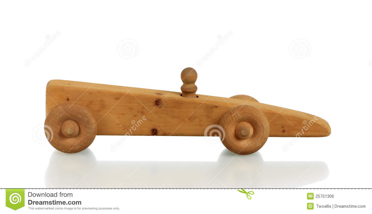 Homemade Wooden Toy Cars