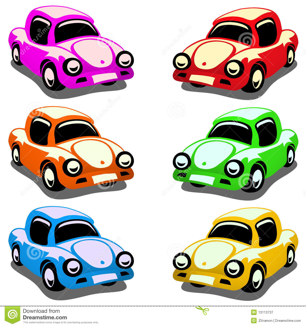 Toy Cars Clip Art Images & Pictures - Becuo