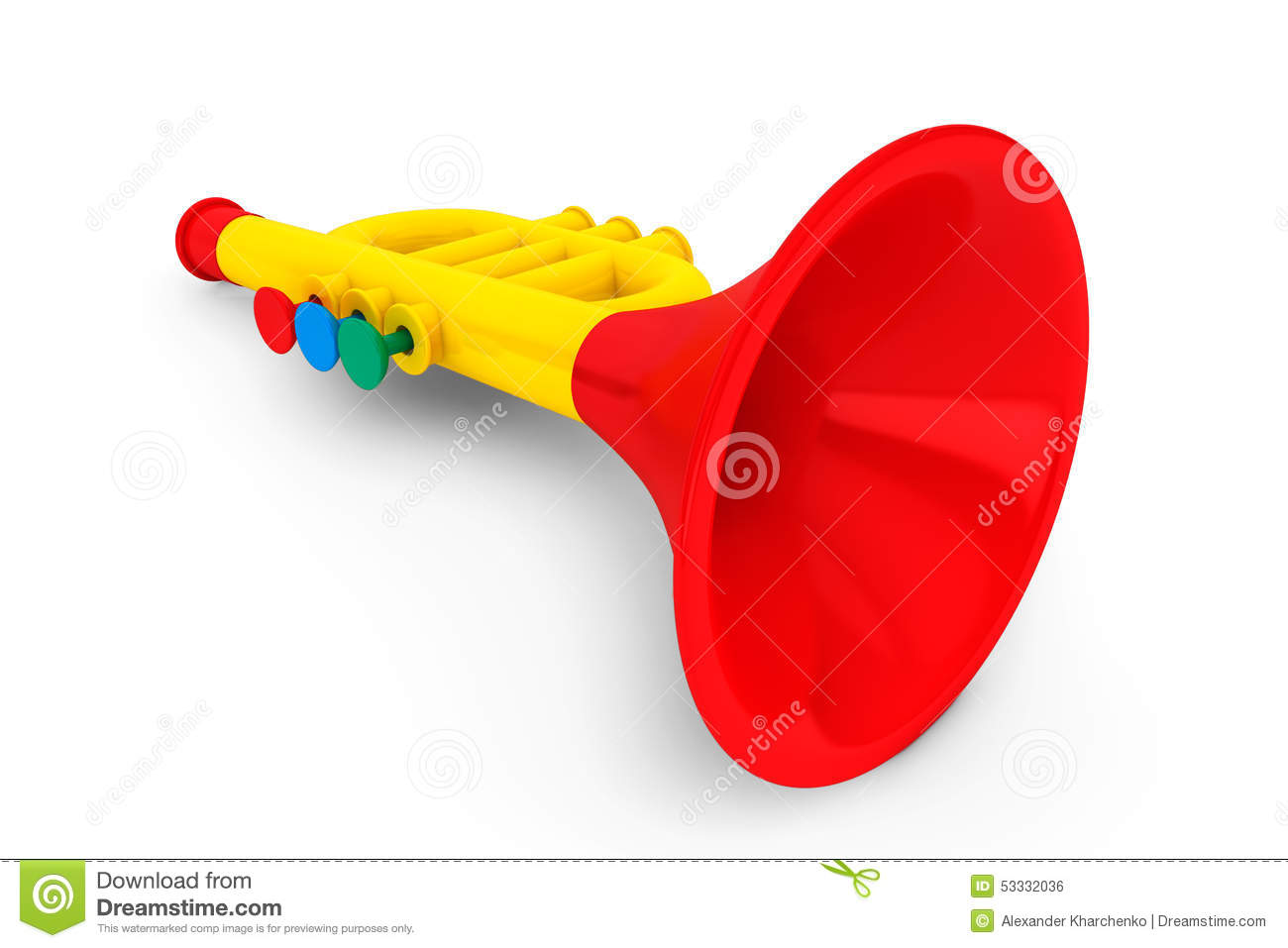 Toy childs trumpet stock photo image of colorful child 53332036 royalty free stock photo download toy childs trumpet sciox Choice Image