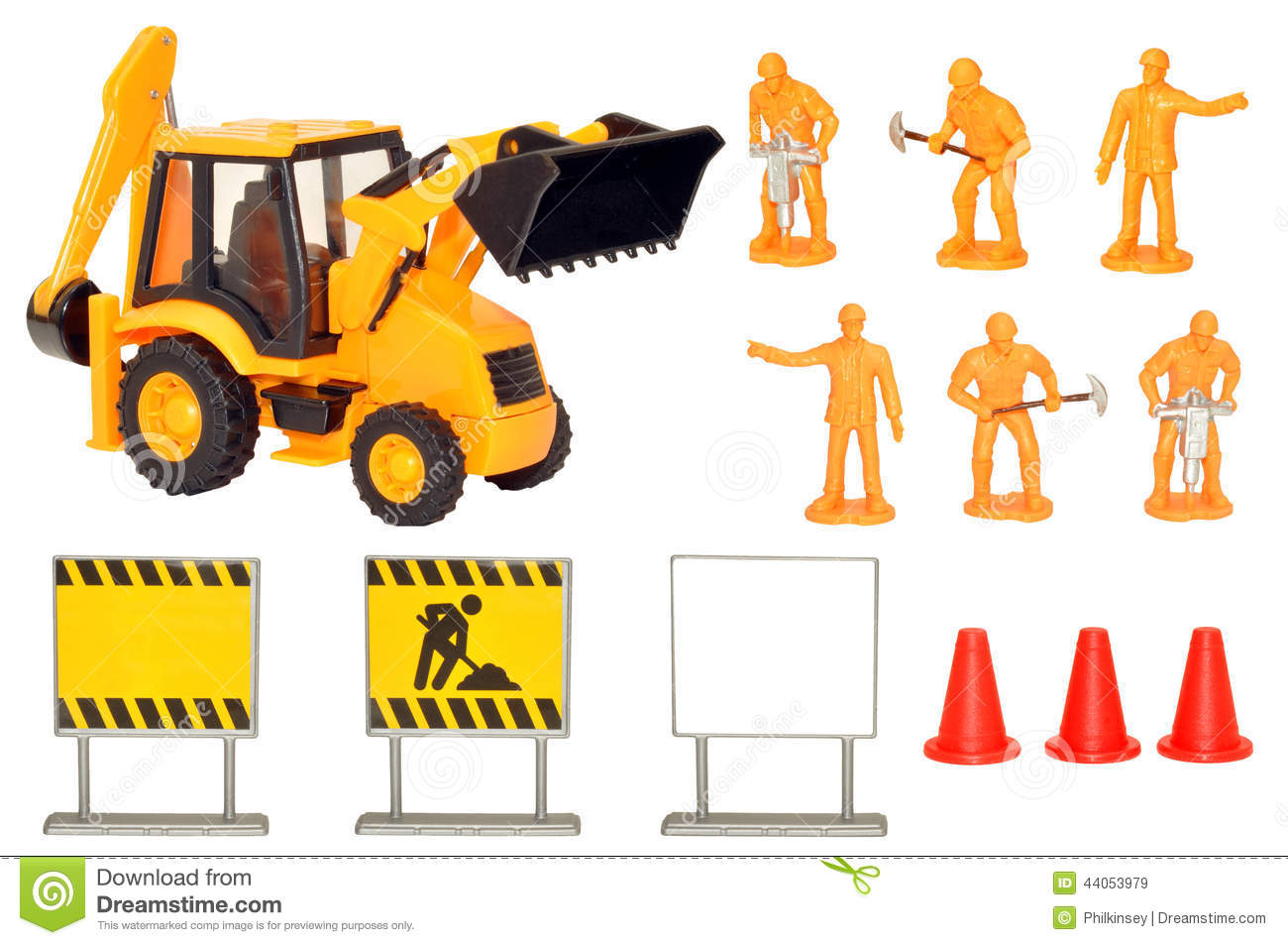 Construction Play Toys : Toy construction play set stock photo image