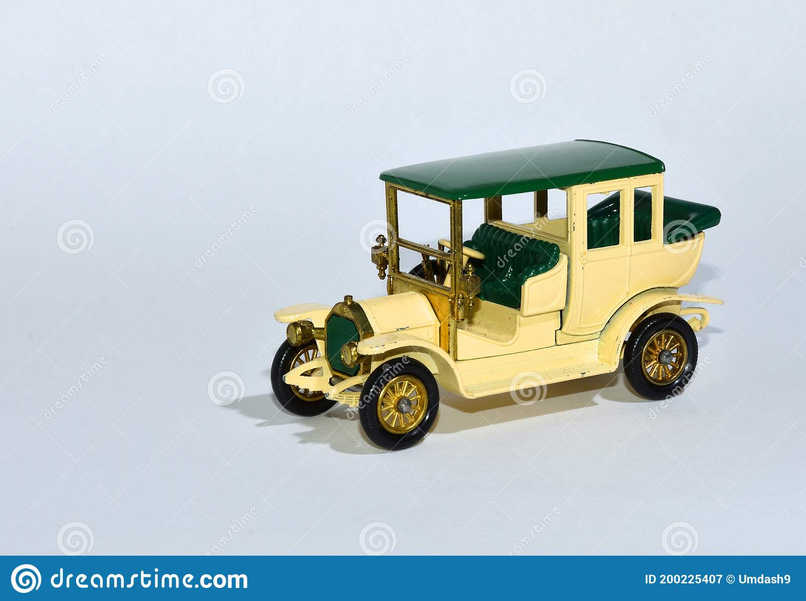 Toy Diecast Model Car 1910 Benz Limousine Y3 A Matchbox Yesteryear Product By Lesney With White Background Editorial Photography Image Of Diecast Colourful 200225407