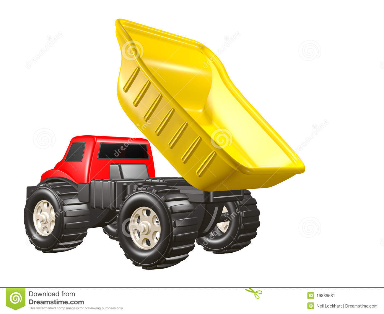dump dumping isolated red toy truck - Toy Dump Trucks