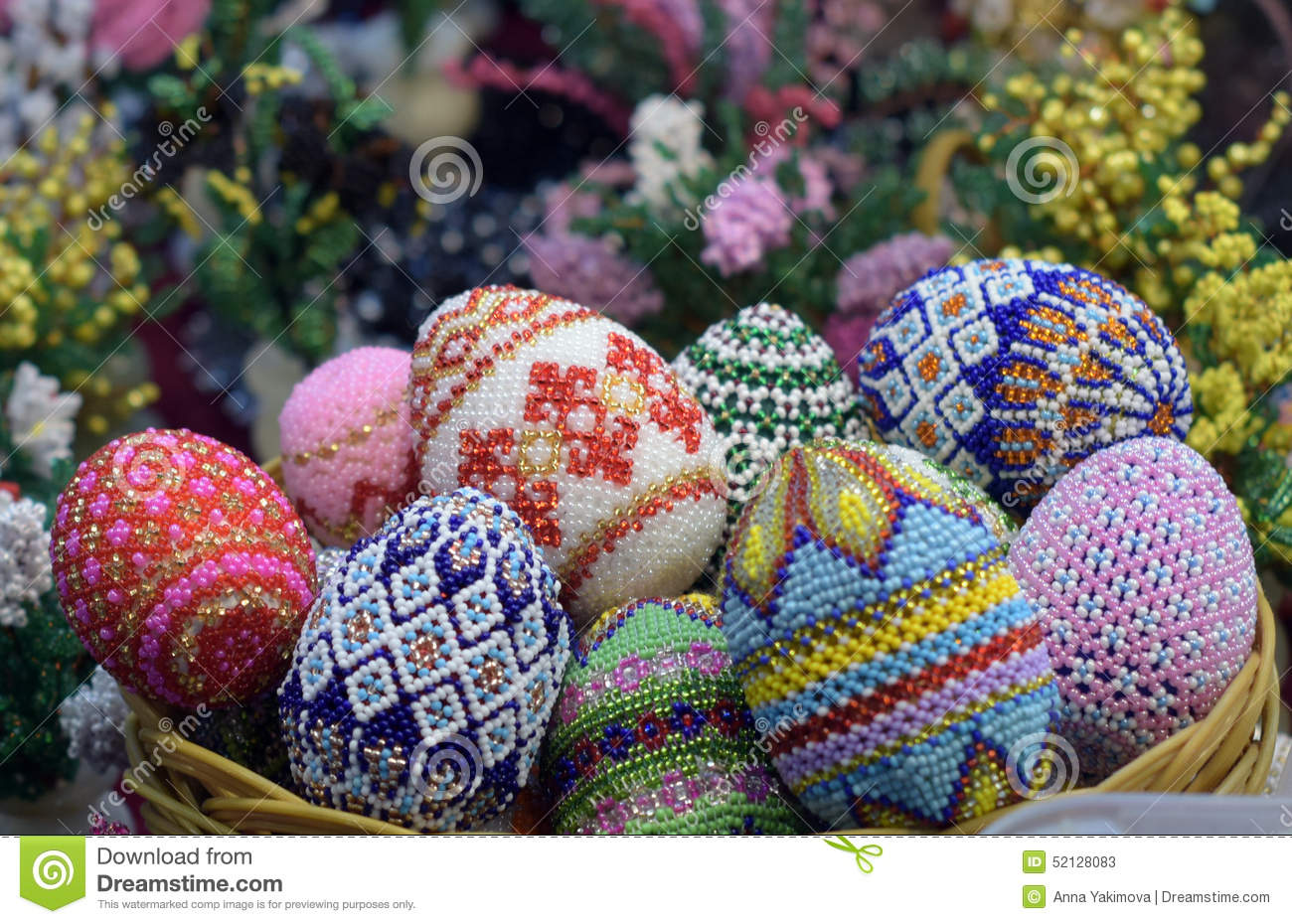 Toy Easter eggs