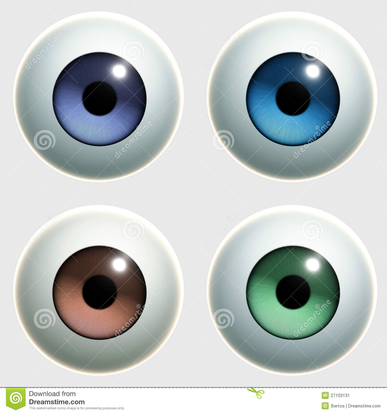 Toy Eye Stock Image - Image: 27103131