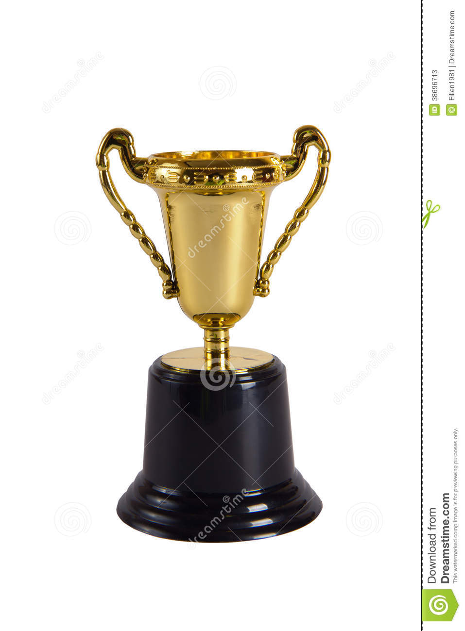 Toy Golden Trophy Cup