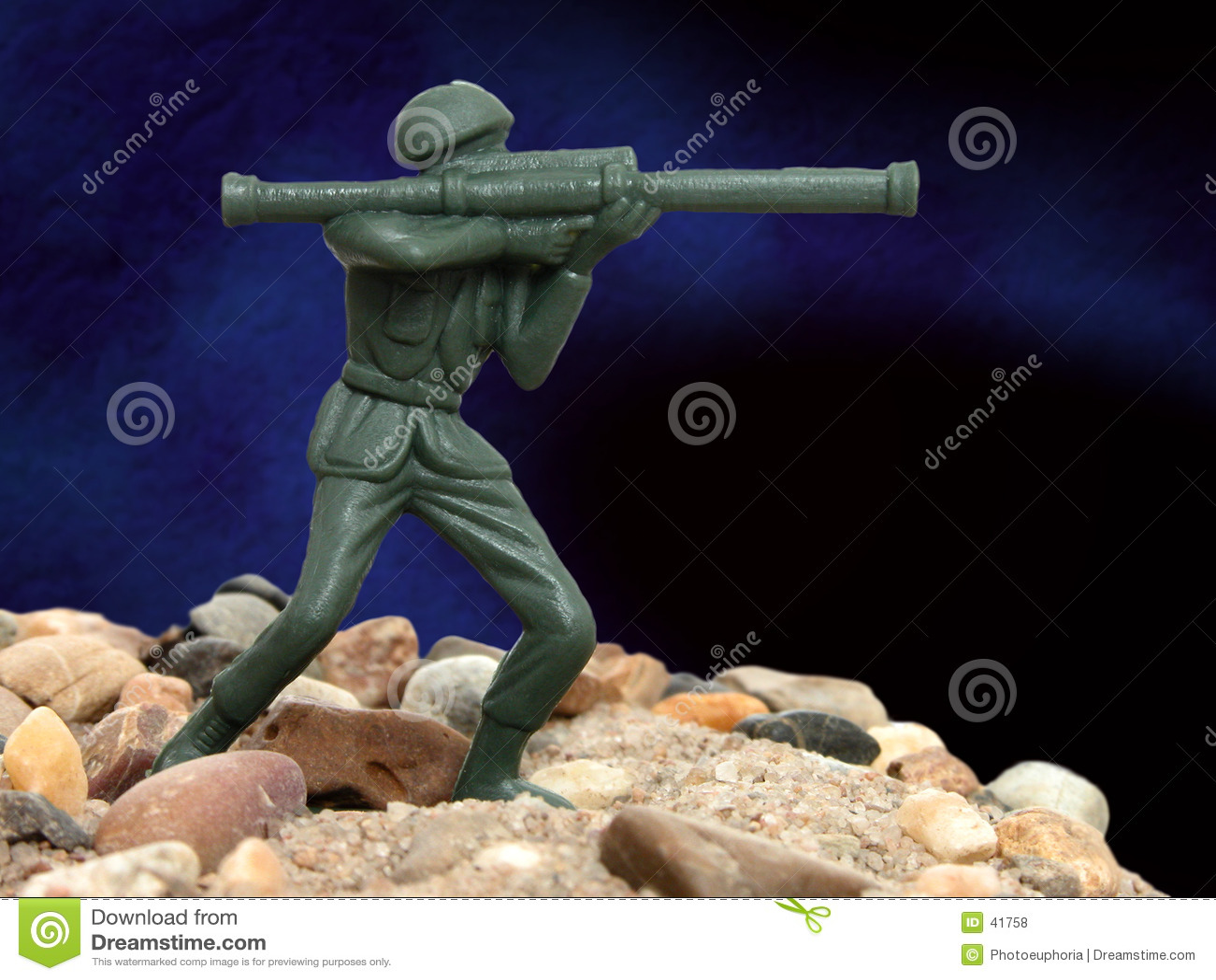 Toy Green Army Man