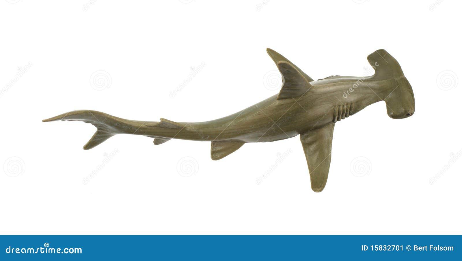 Toy hammerhead shark