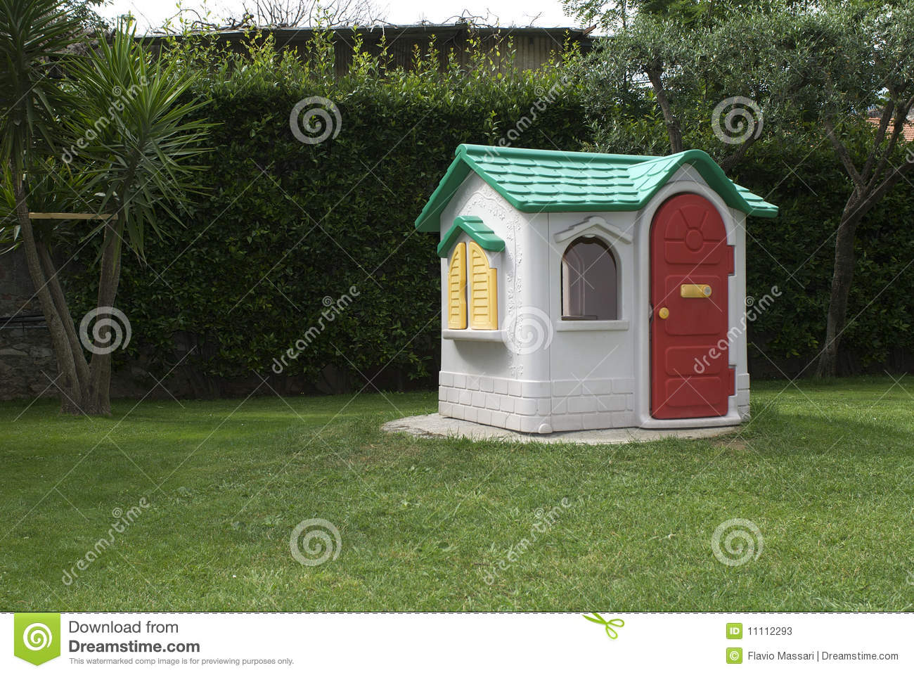 Toy House Stock Photos Image 11112293