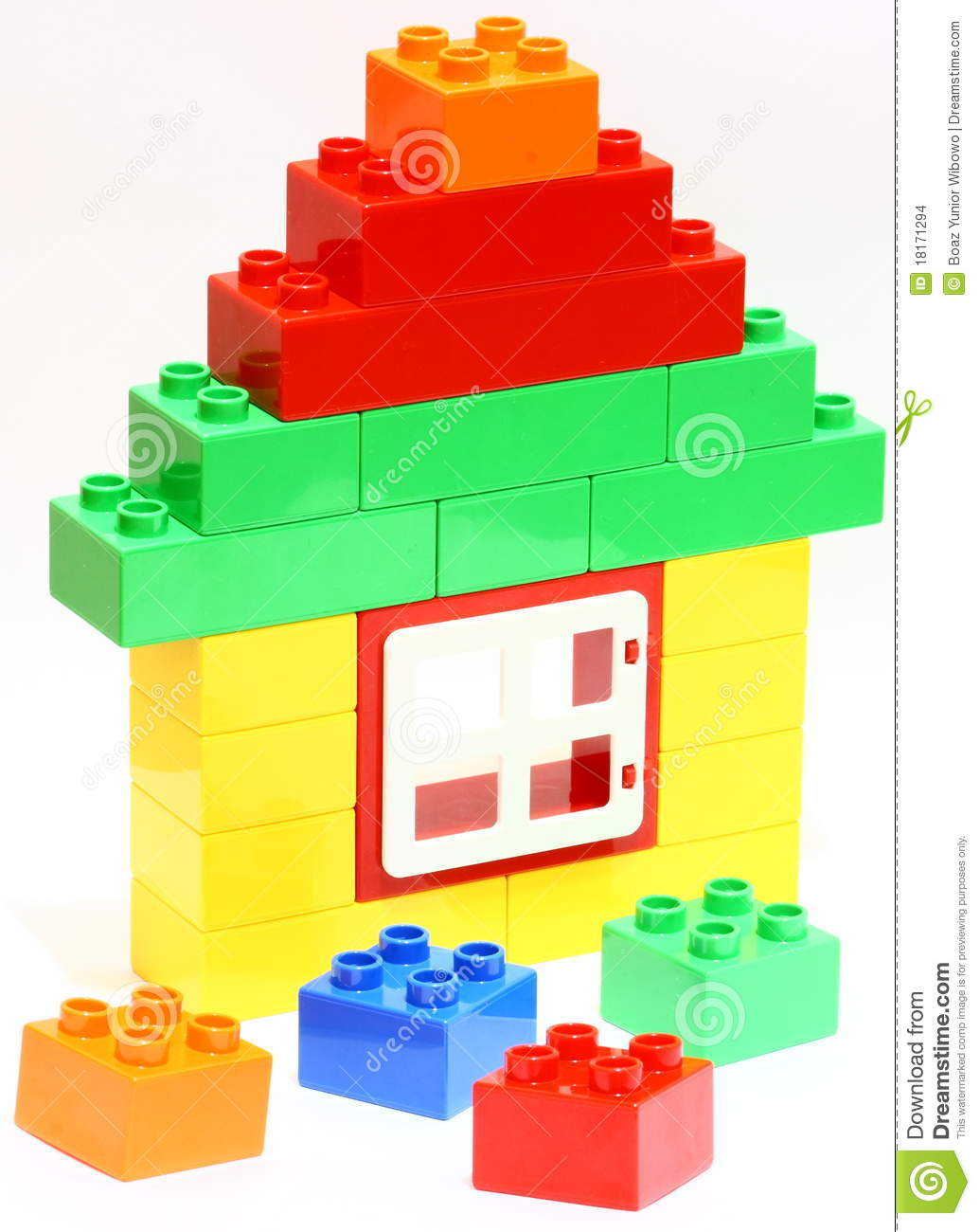 House Building Blocks Toy