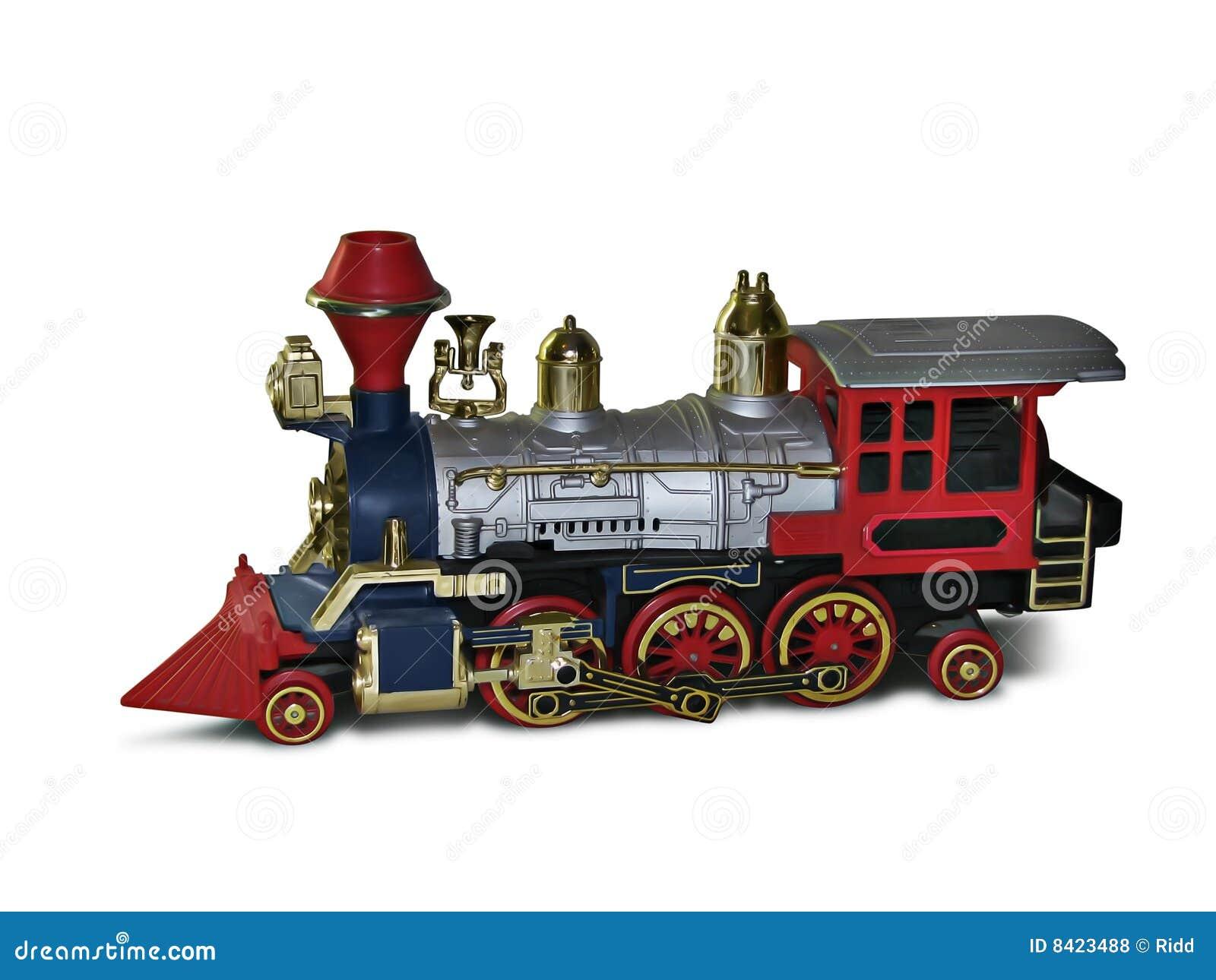 Toy Locomotive Royalty Free Stock Photos - Image: 8423488