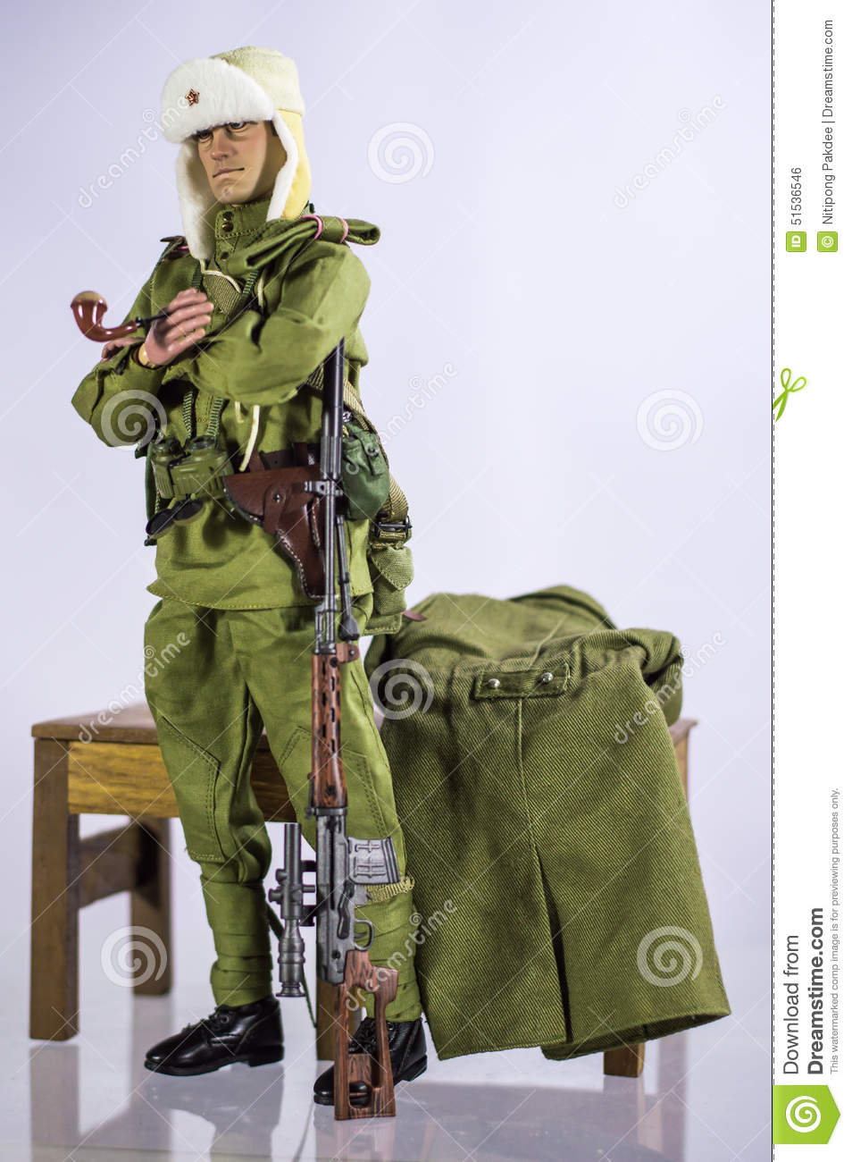 Toy Man Soldier Action Figure Miniature Realistic Silk ...