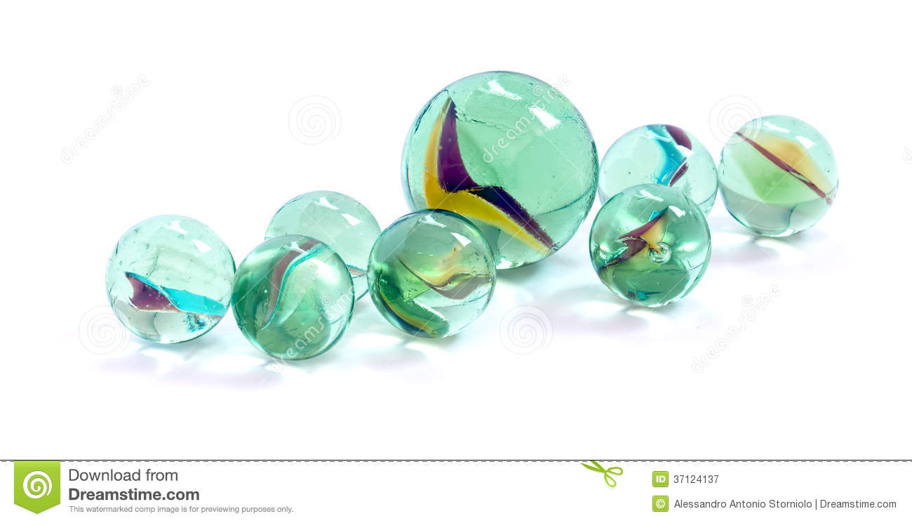 Solid White Toy Marbles : Toy marbles royalty free stock photography image
