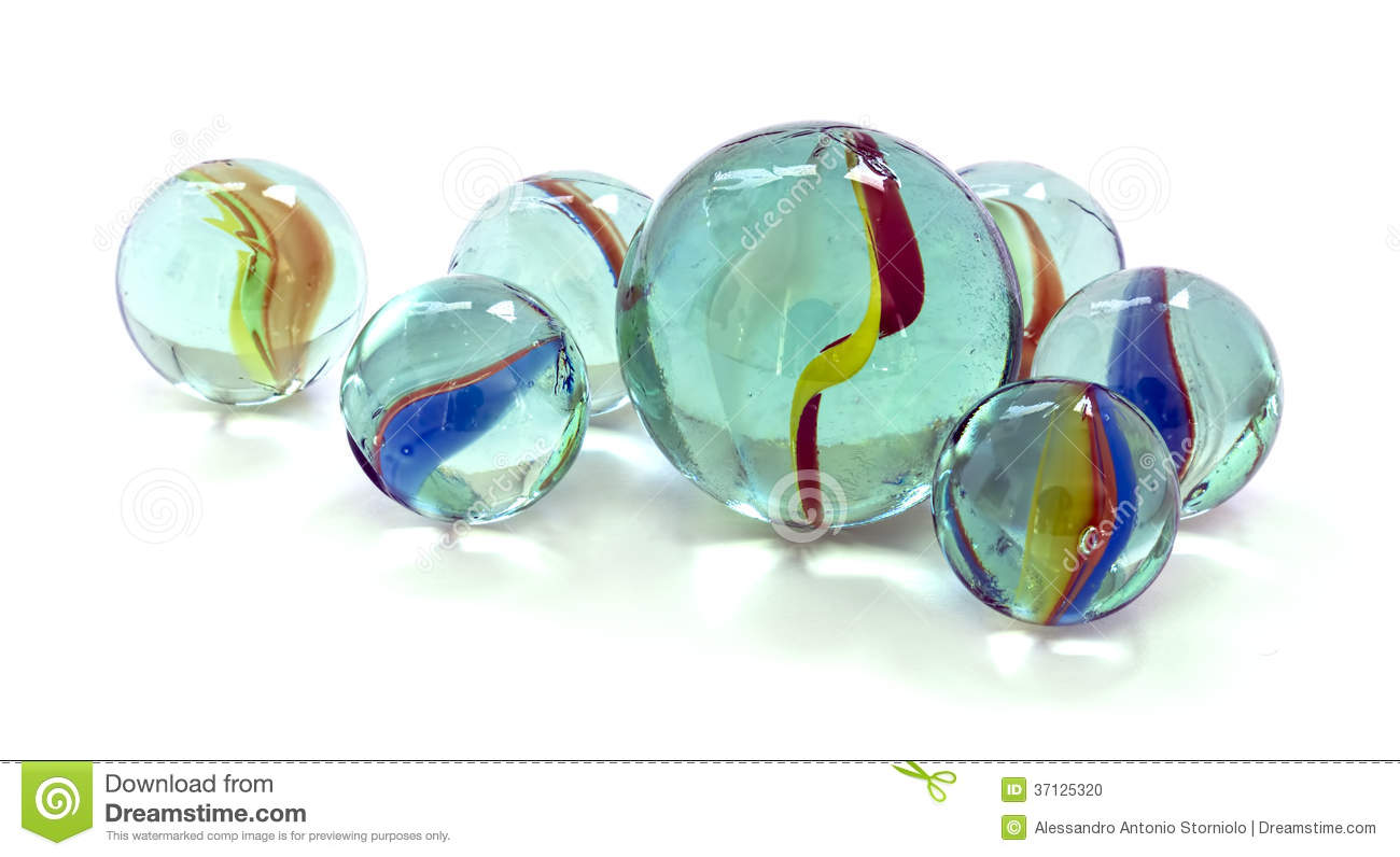 Solid White Toy Marbles : Toy marbles stock photo image of marble orbs leisure