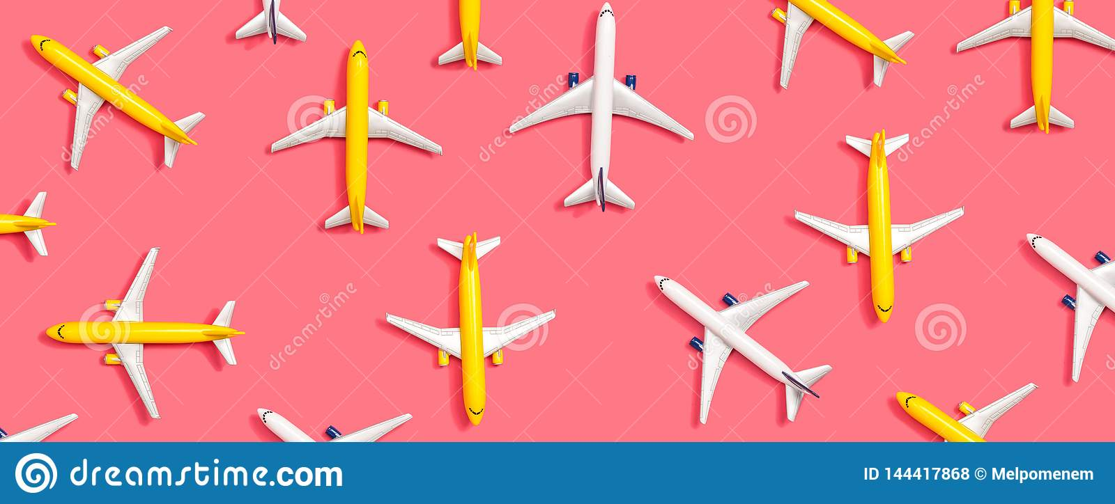 Toy miniature airplanes