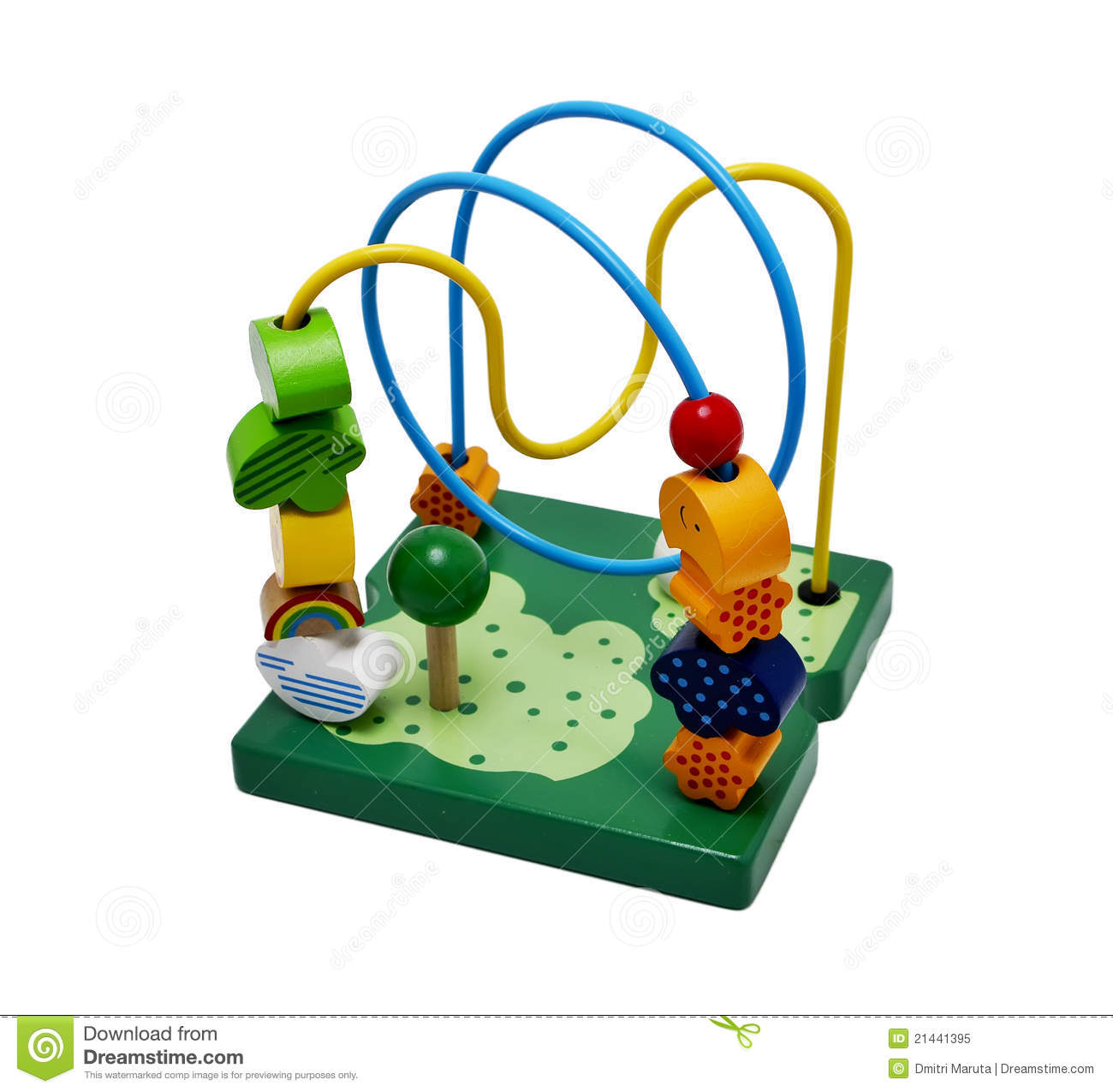 Toy For Motor Development Royalty Free Stock Photo Image