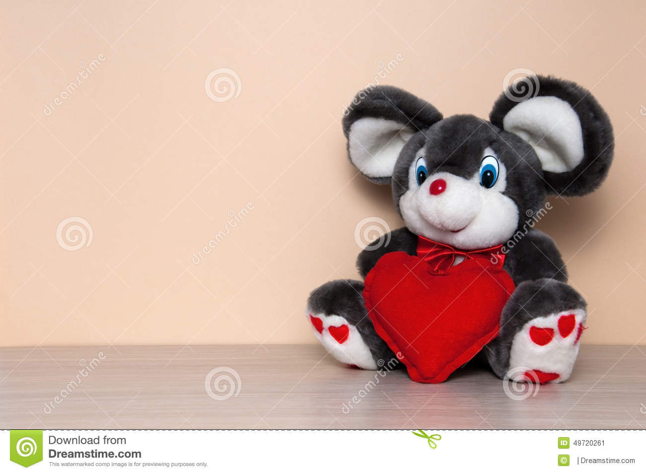 Valentine S Day Talking Toys : Valentines day greeting card royalty free stock