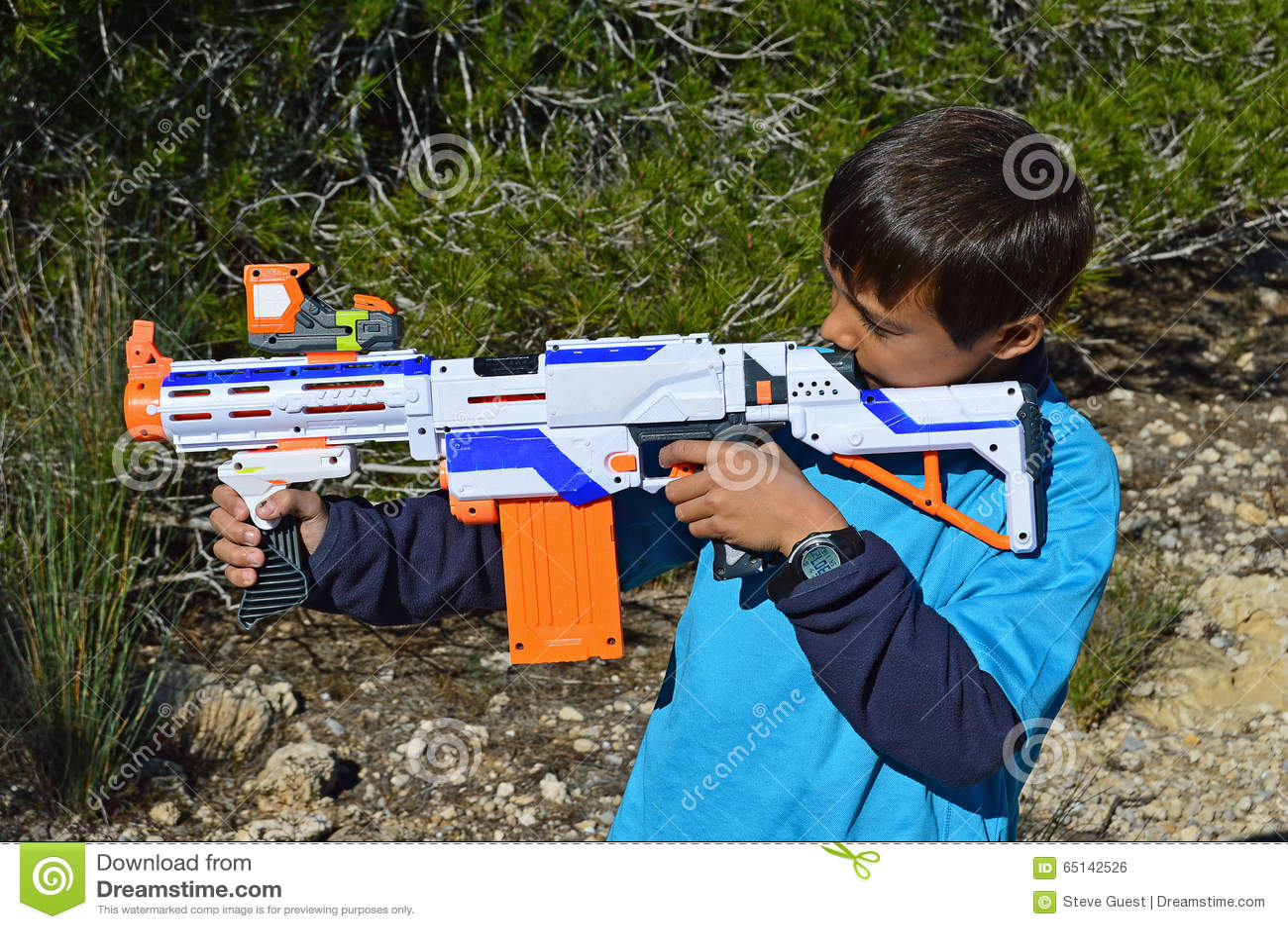 Toy Nerf Rifle